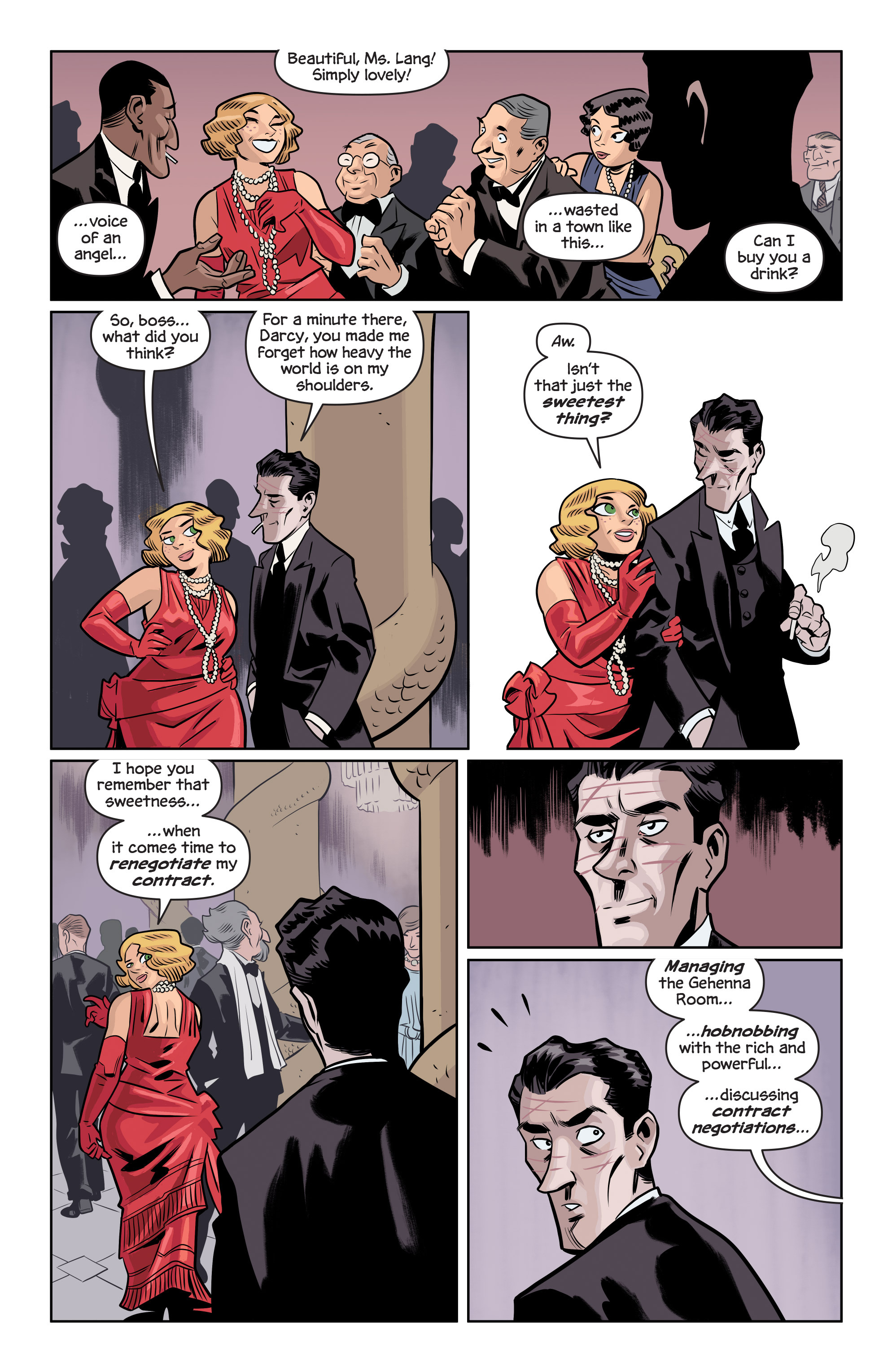 Read online The Damned comic -  Issue #1 - 11