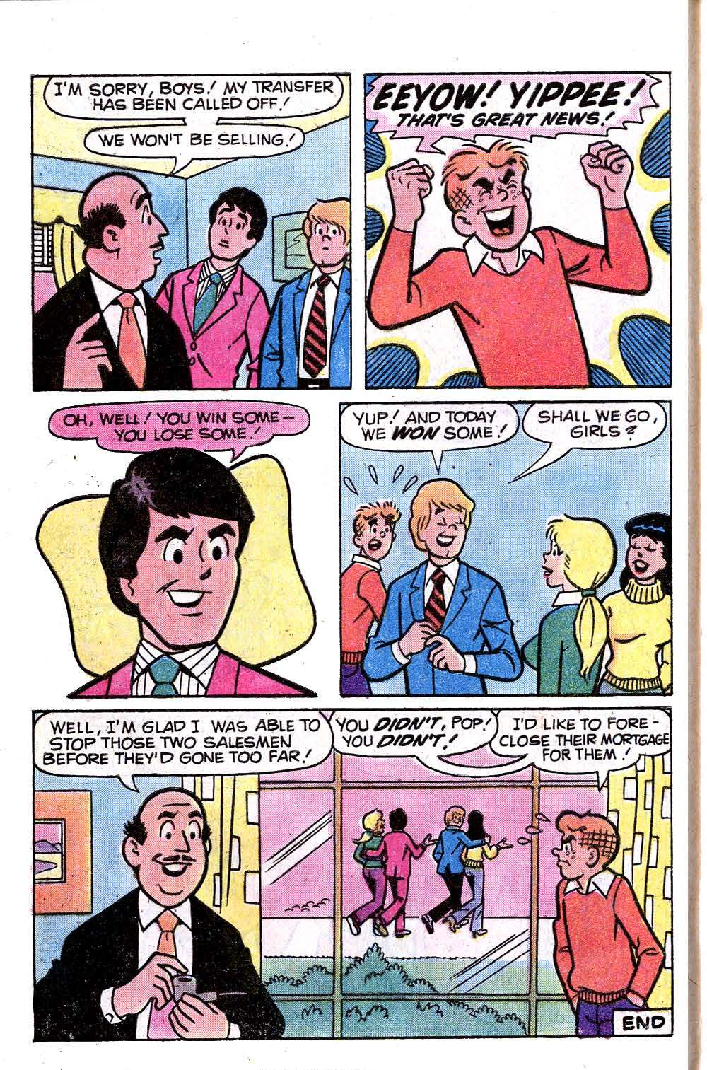 Read online Archie (1960) comic -  Issue #281 - 8