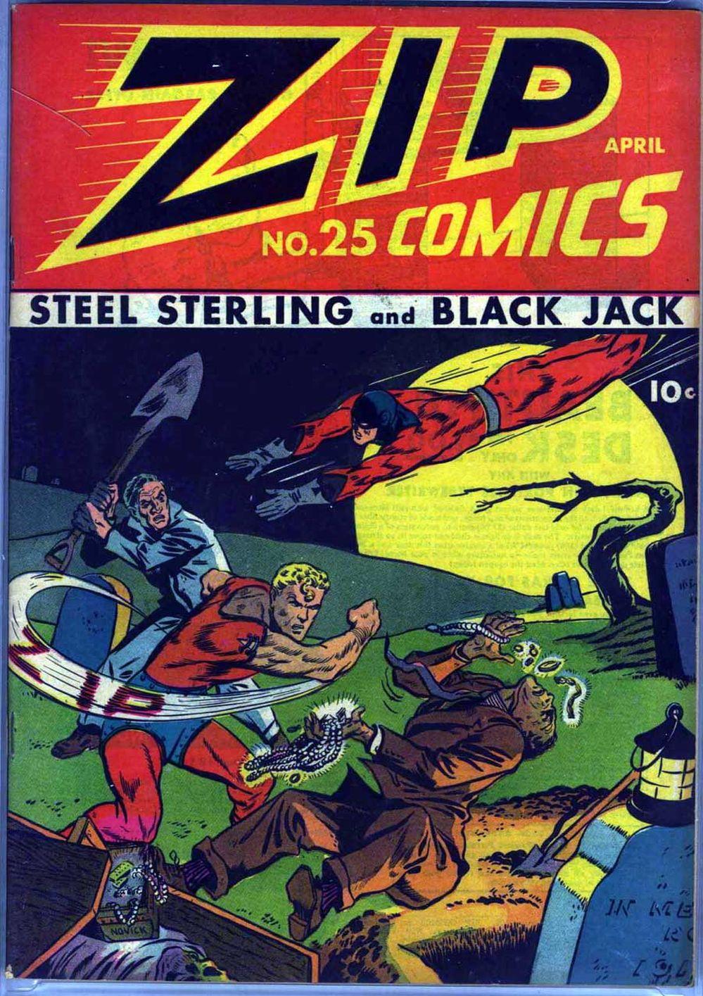 Zip Comics 25 Page 2
