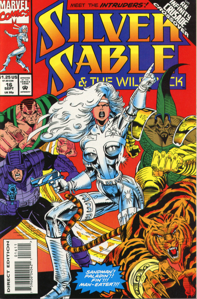 Read online Silver Sable and the Wild Pack comic -  Issue #16 - 1