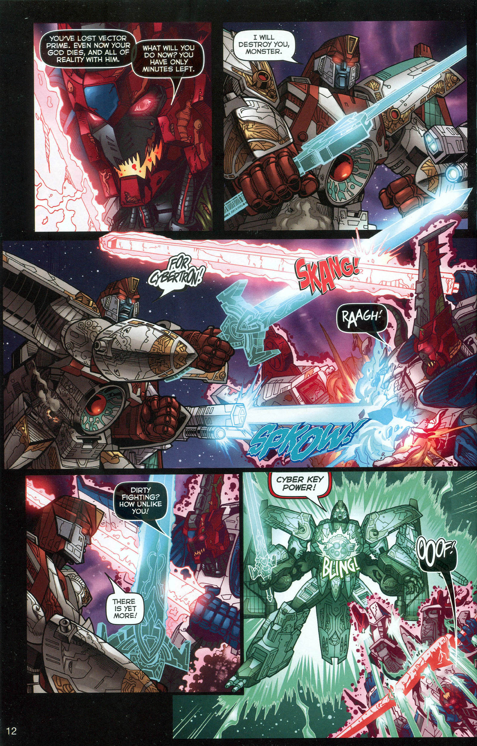 Read online Transformers: Collectors' Club comic -  Issue #7 - 12