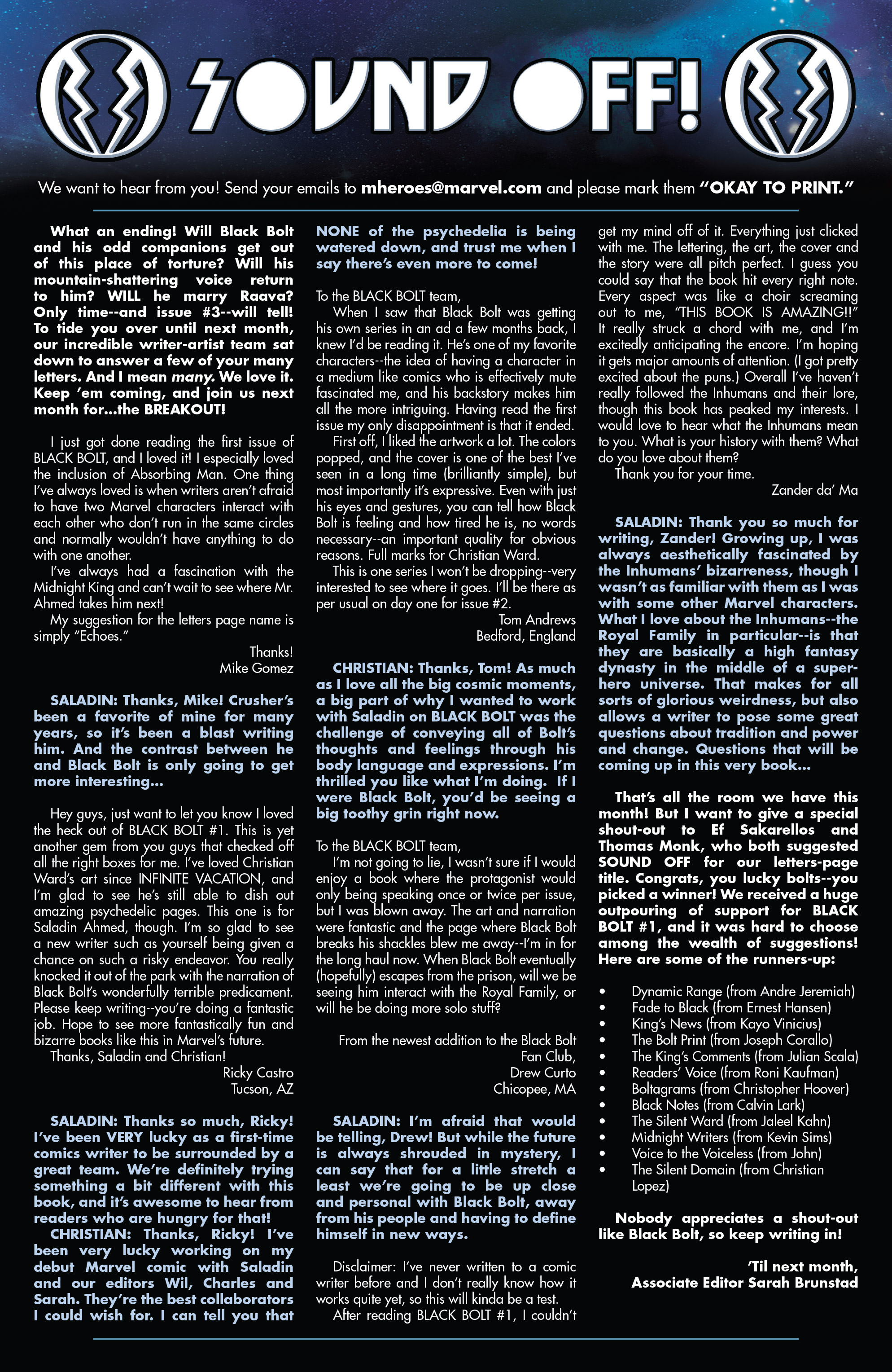 Read online Black Bolt comic -  Issue #2 - 23