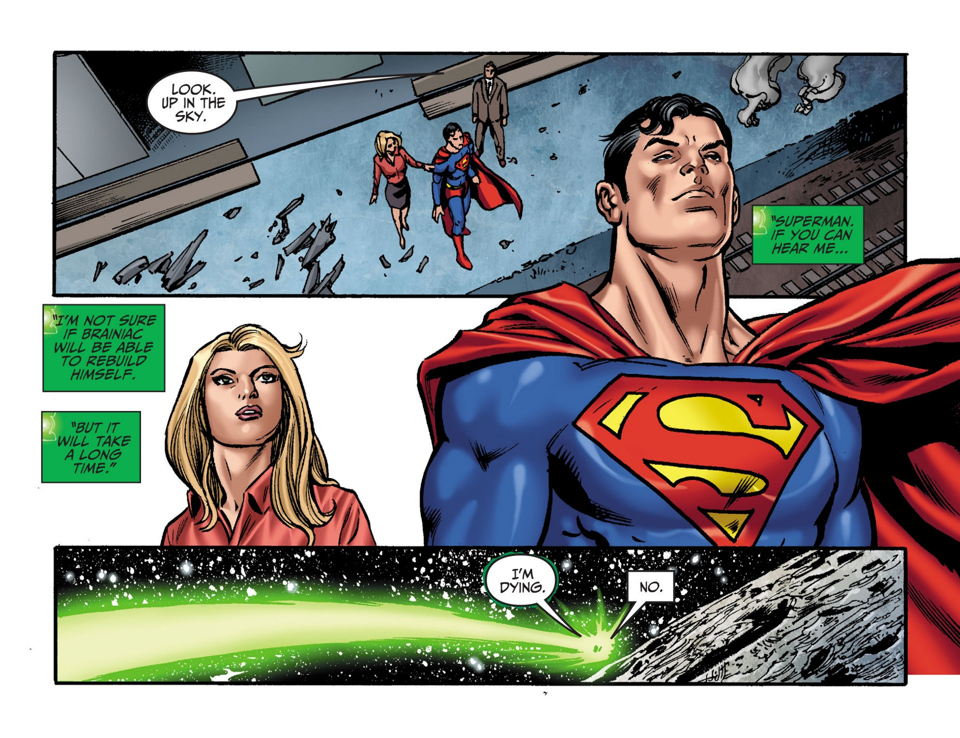 Read online Adventures of Superman [I] comic -  Issue #33 - 19