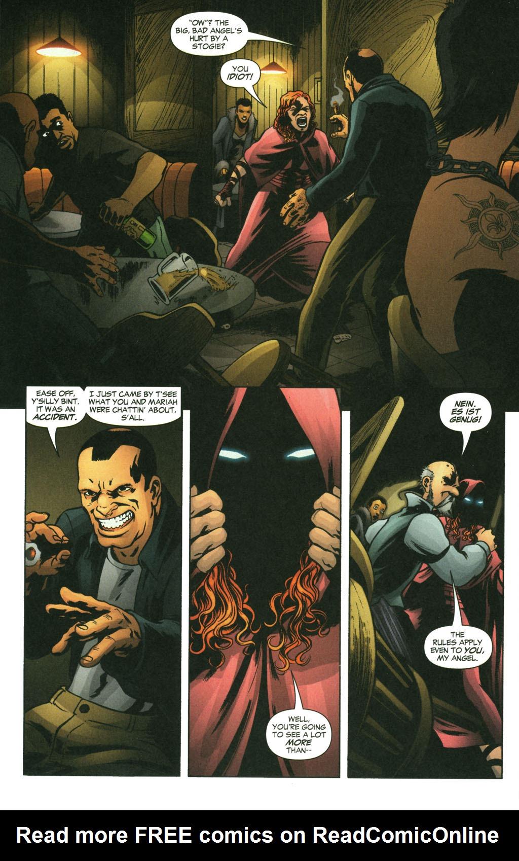 Read online Fallen Angel (2003) comic -  Issue #14 - 15