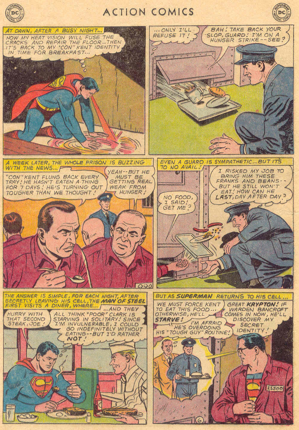 Read online Action Comics (1938) comic -  Issue #323 - 8