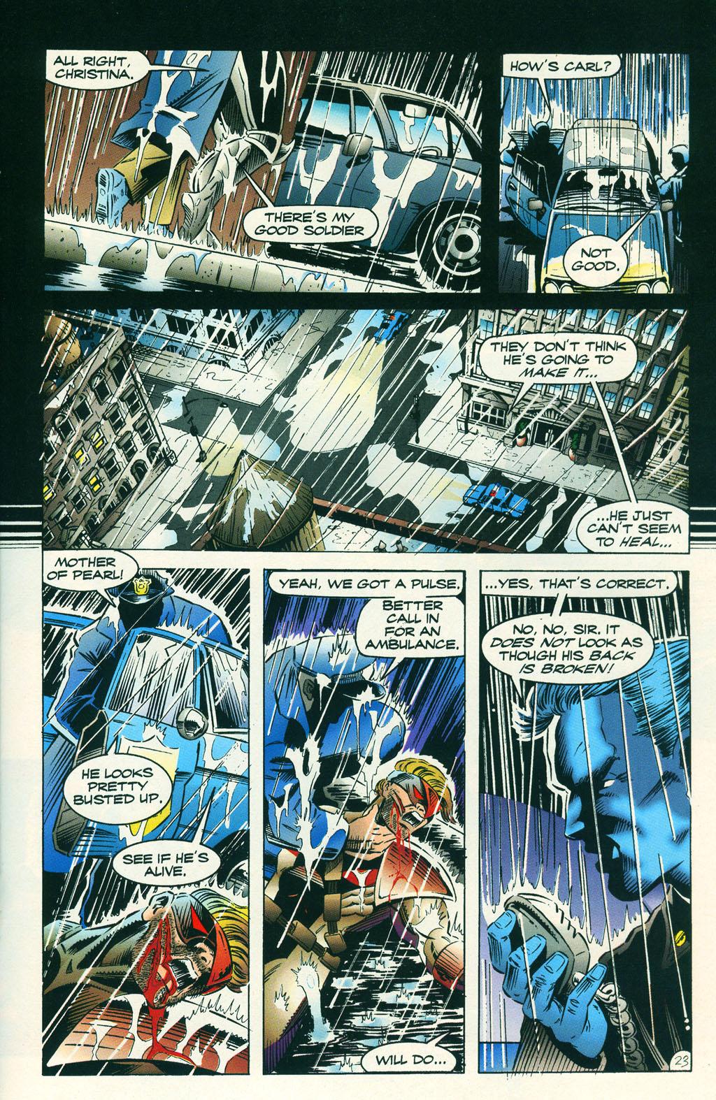 Read online ShadowHawk comic -  Issue #6 - 30