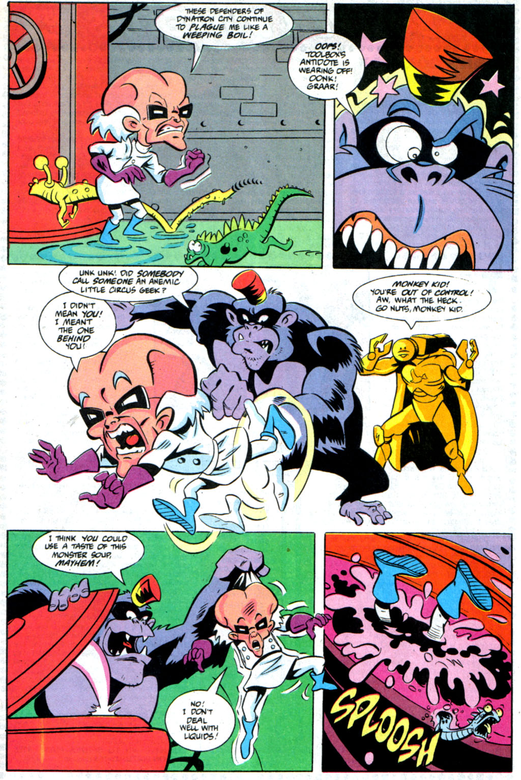 Read online Defenders of Dynatron City comic -  Issue #6 - 20
