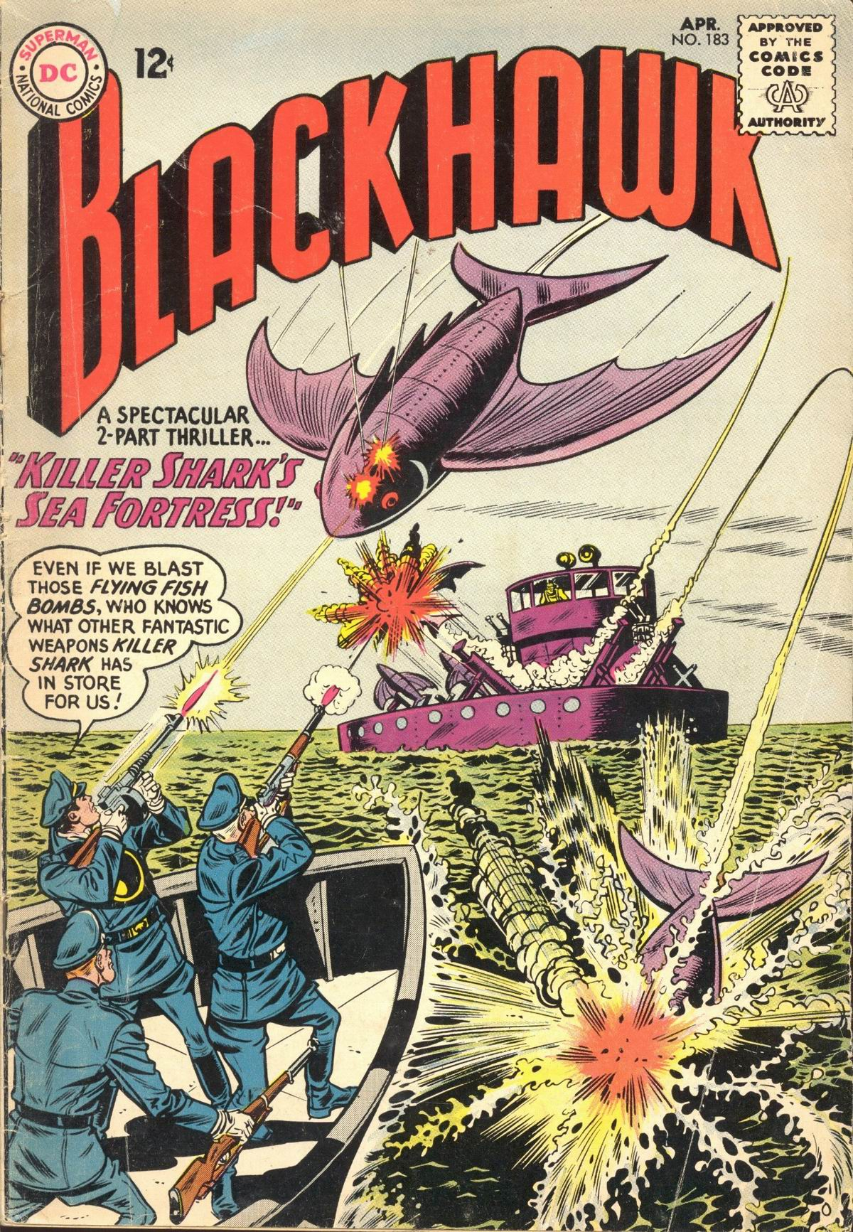Blackhawk (1957) 183 Page 1