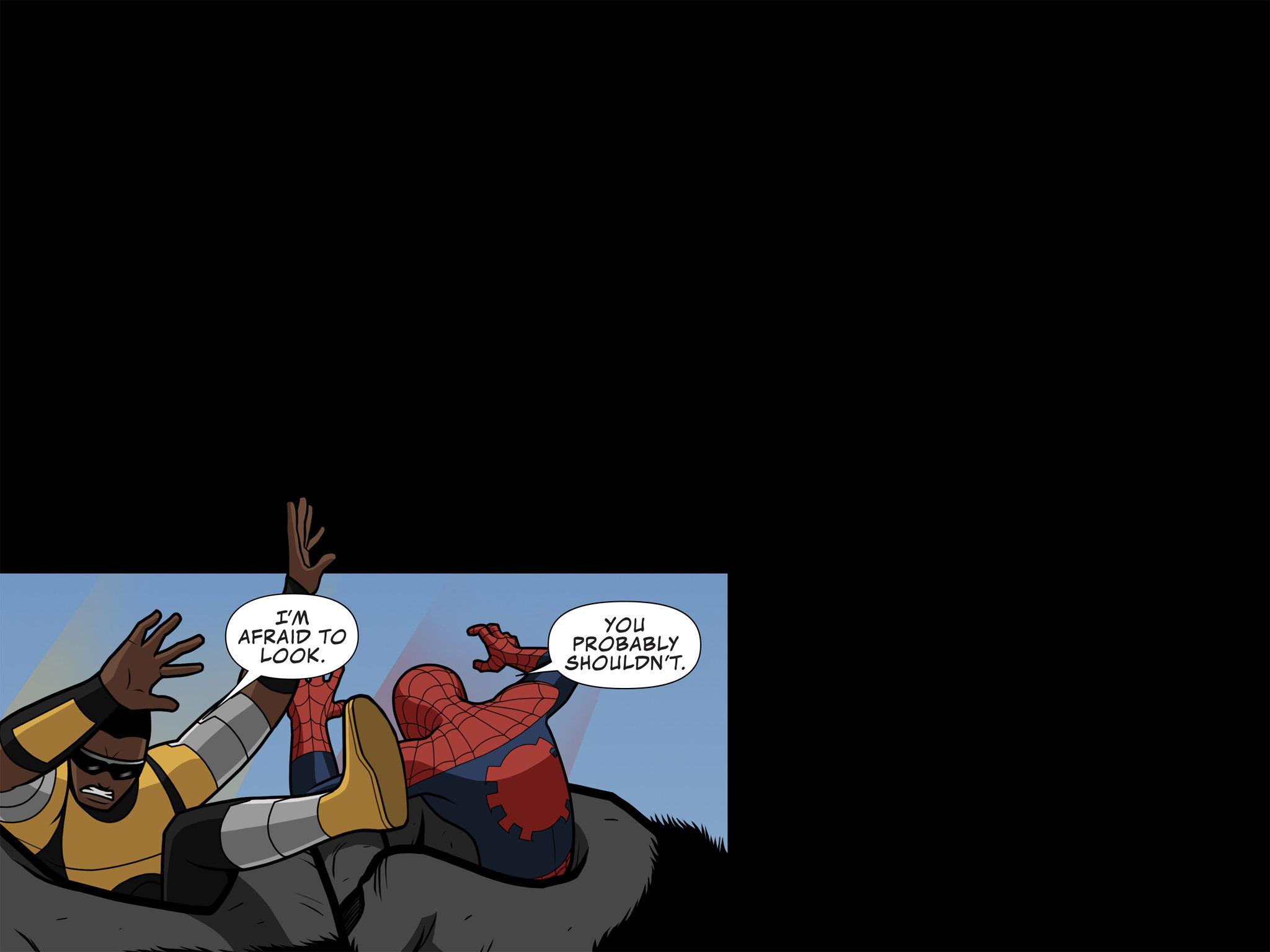 Read online Ultimate Spider-Man (Infinite Comics) (2015) comic -  Issue #10 - 21
