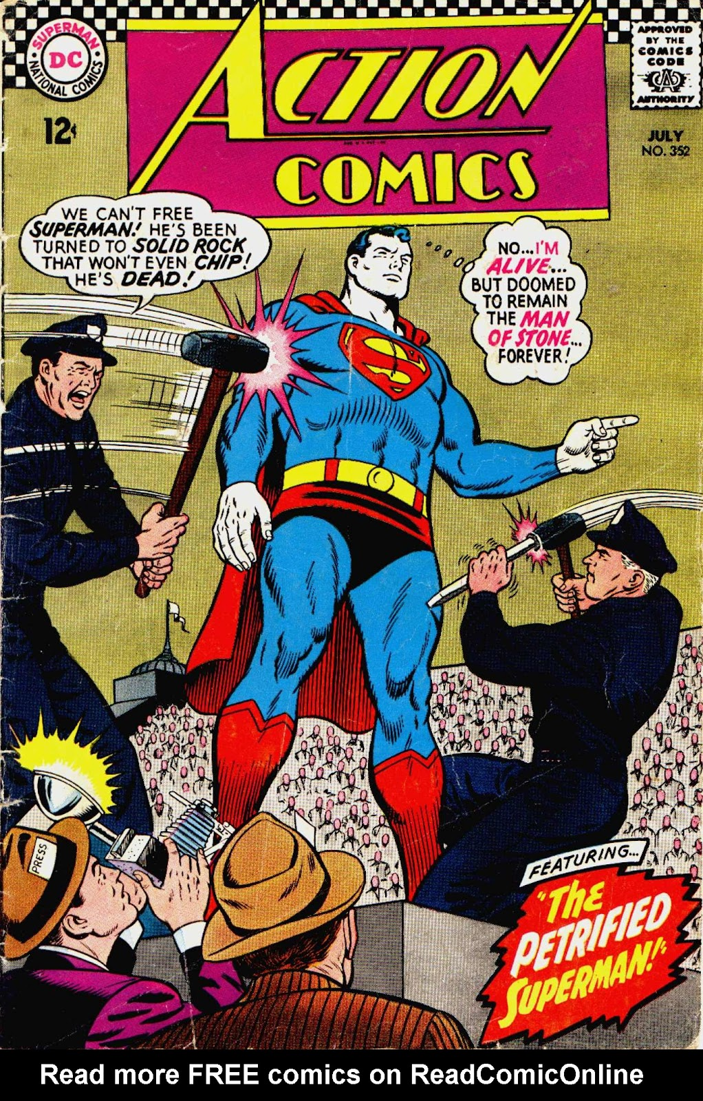 Action Comics (1938) 352 Page 1