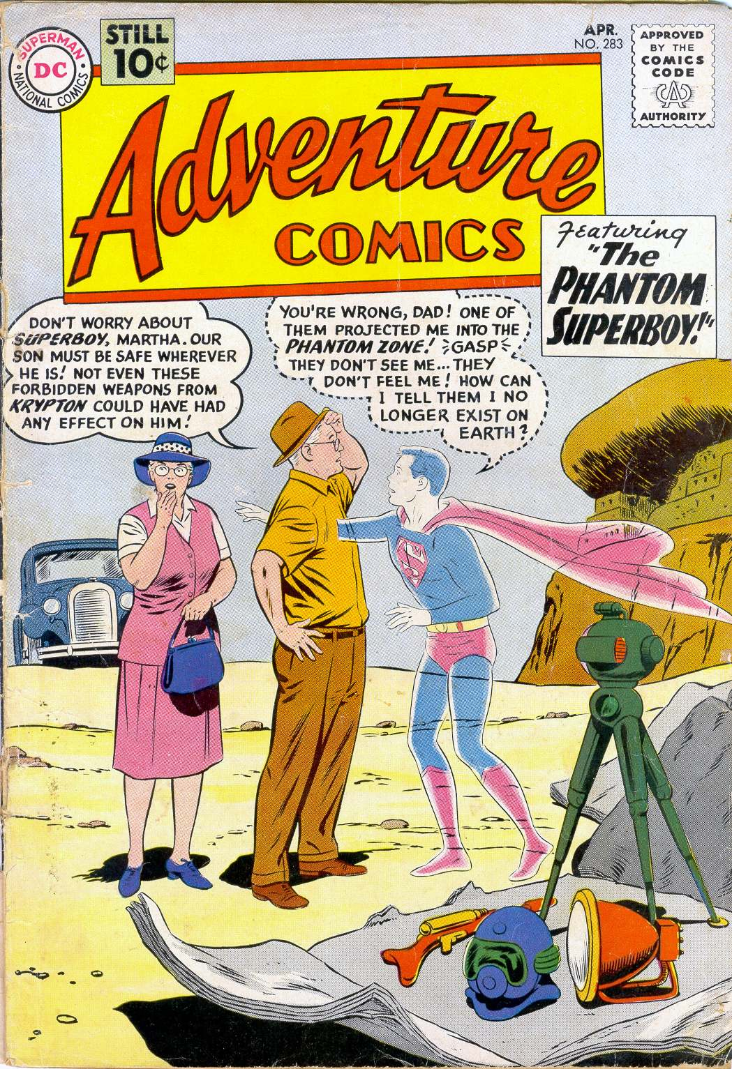 Read online Adventure Comics (1938) comic -  Issue #283 - 1