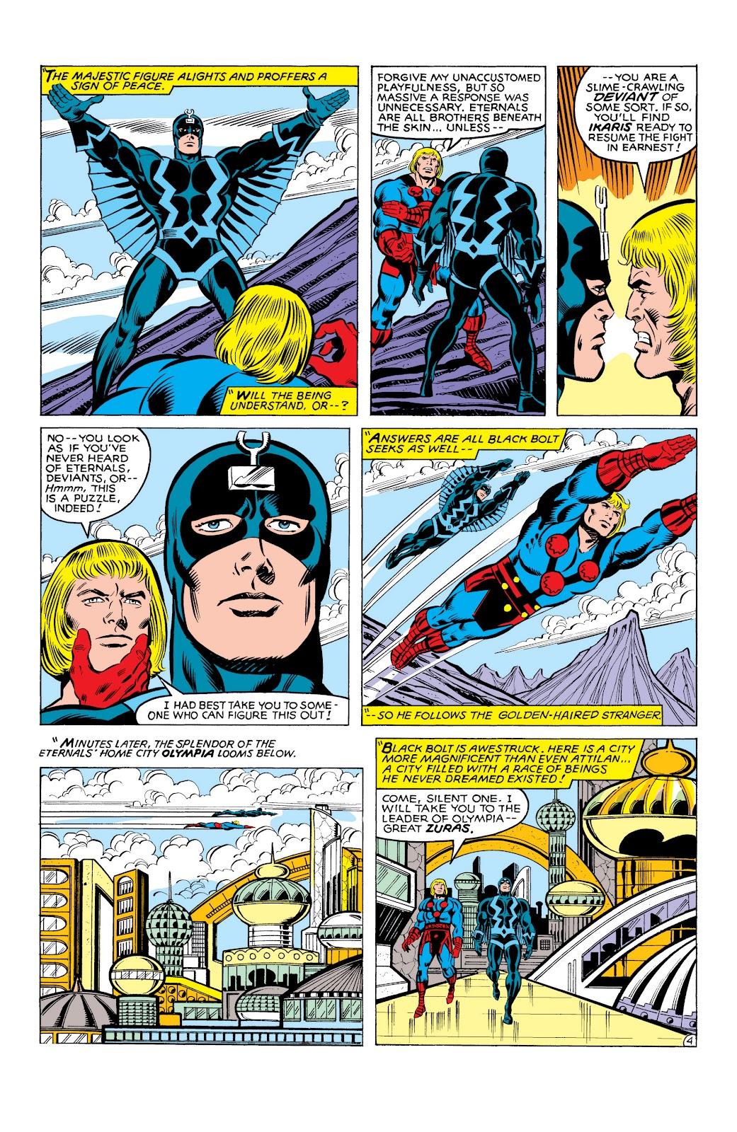 Read online Marvel Masterworks: The Inhumans comic -  Issue # TPB 2 (Part 3) - 85