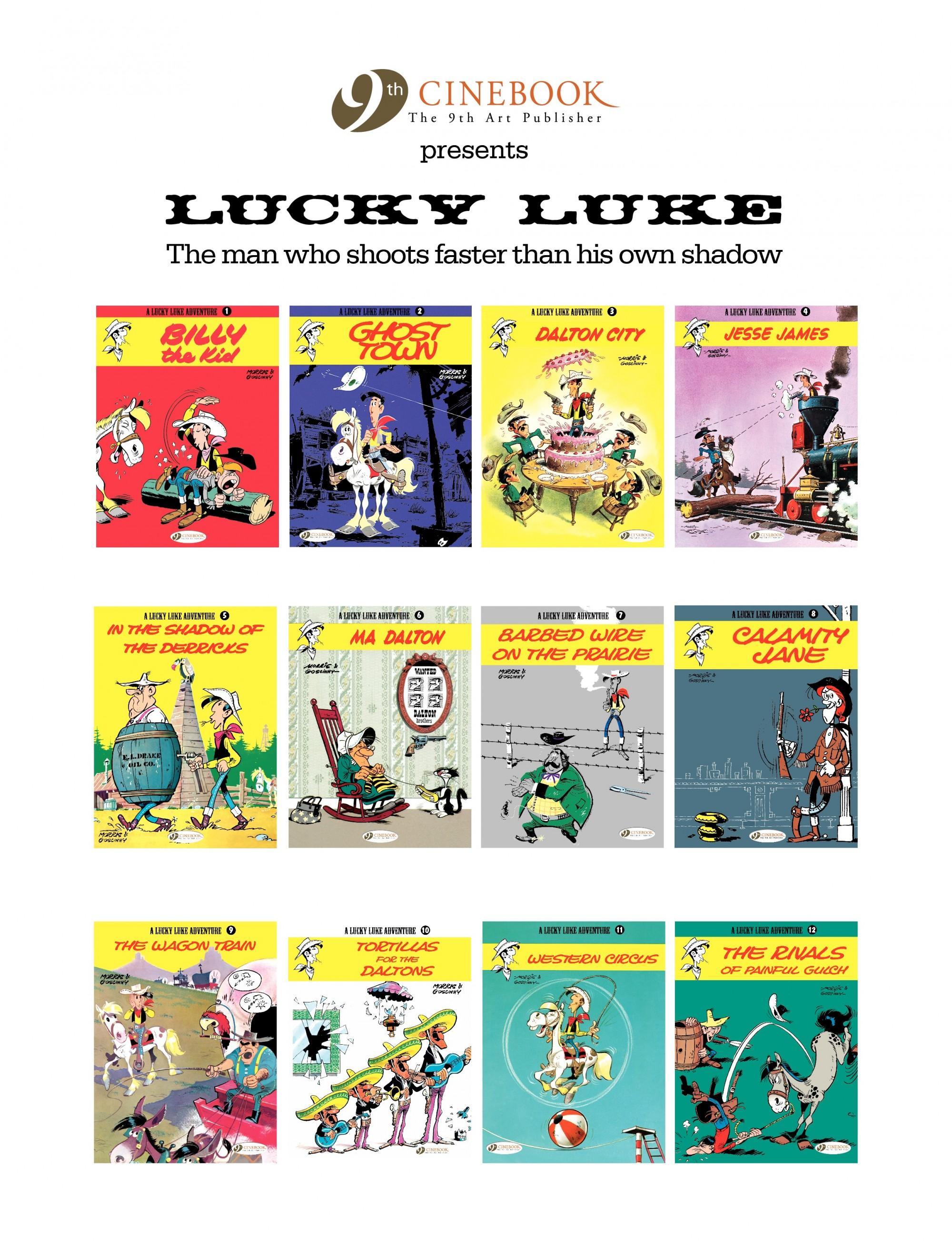 Read online A Lucky Luke Adventure comic -  Issue #12 - 47