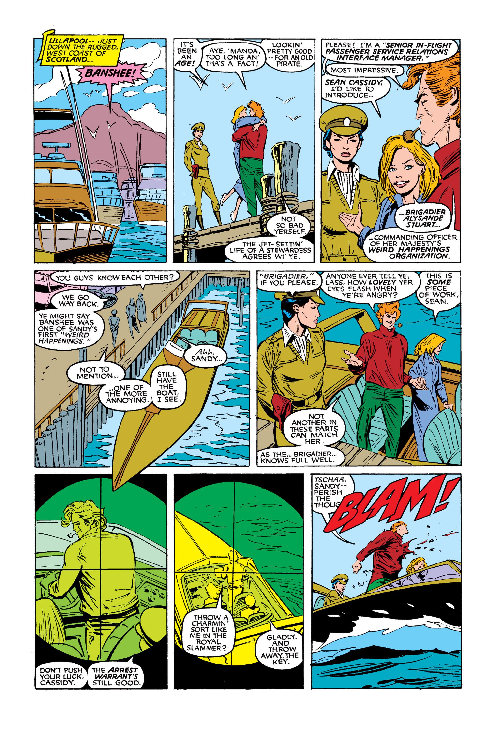 Read online Uncanny X-Men (1963) comic -  Issue #254 - 4