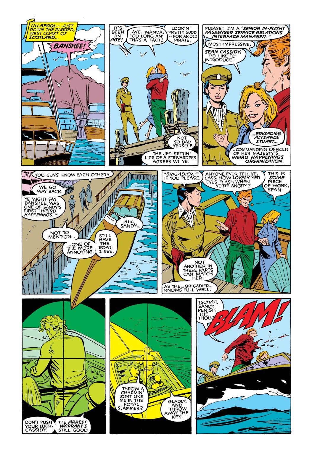 Uncanny X-Men (1963) issue 254 - Page 4