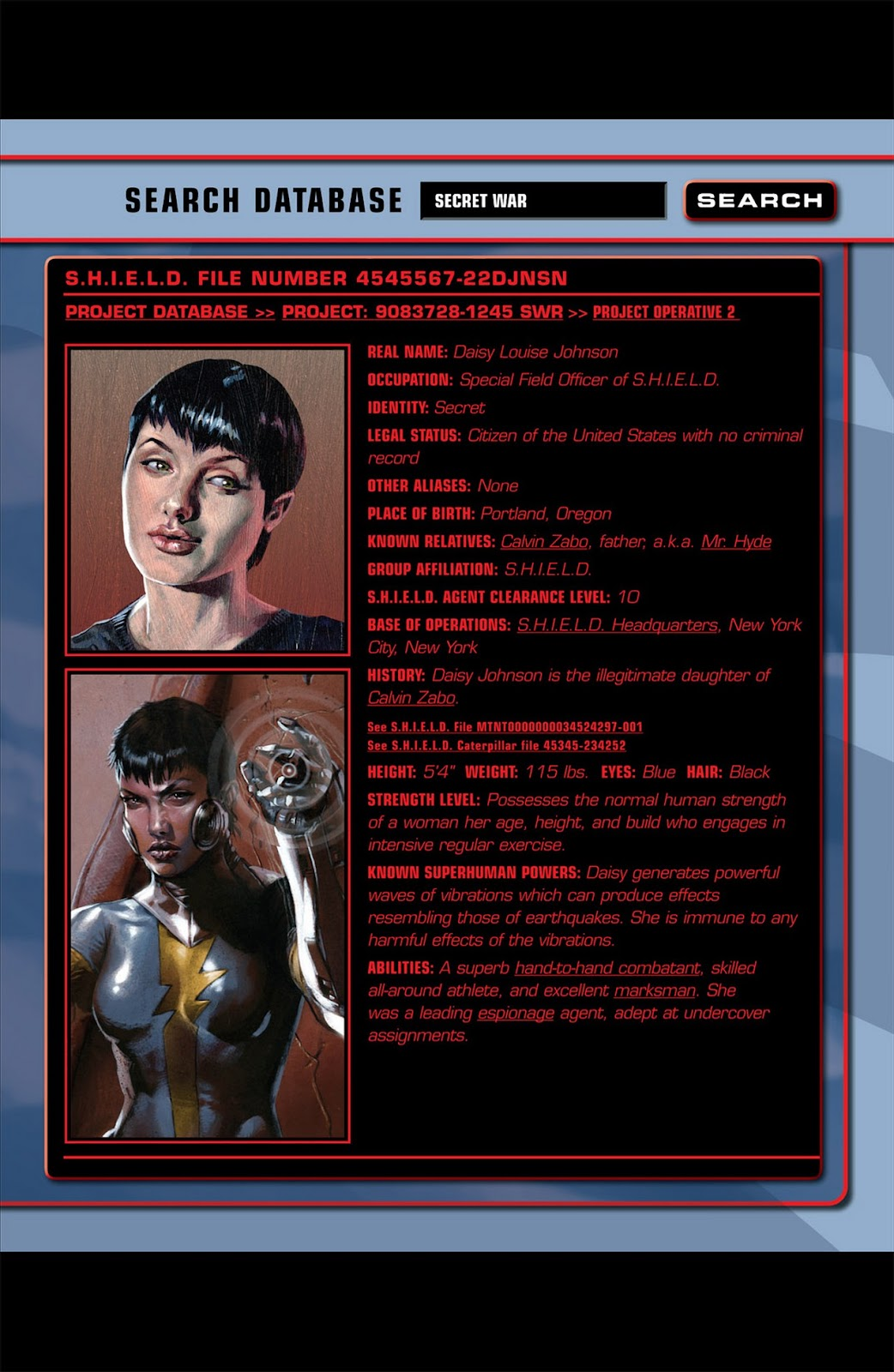 Read online Secret War comic -  Issue #5 - 4