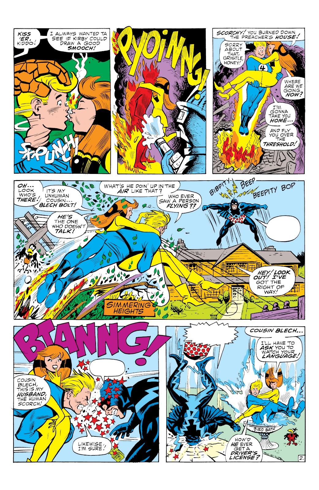 Read online Marvel Masterworks: The Inhumans comic -  Issue # TPB 1 (Part 3) - 19
