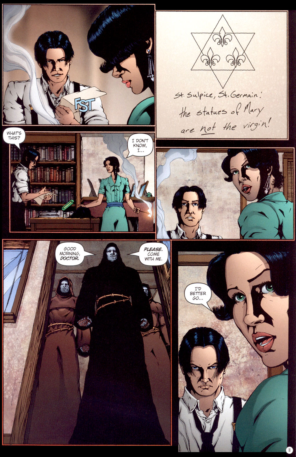 Read online Rex Mundi comic -  Issue #13 - 13
