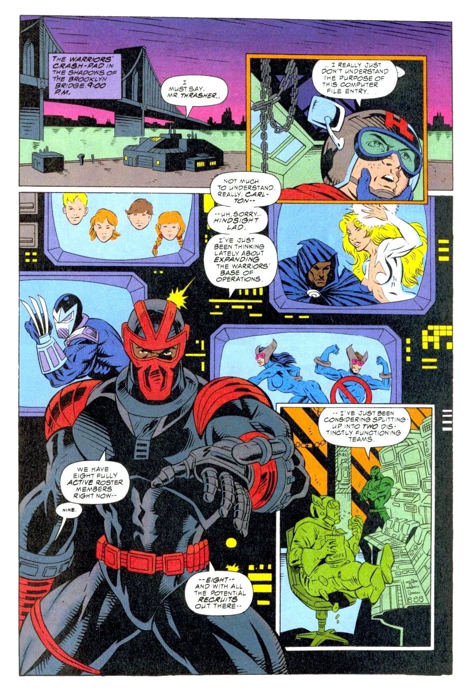 The New Warriors Issue #47 #51 - English 13