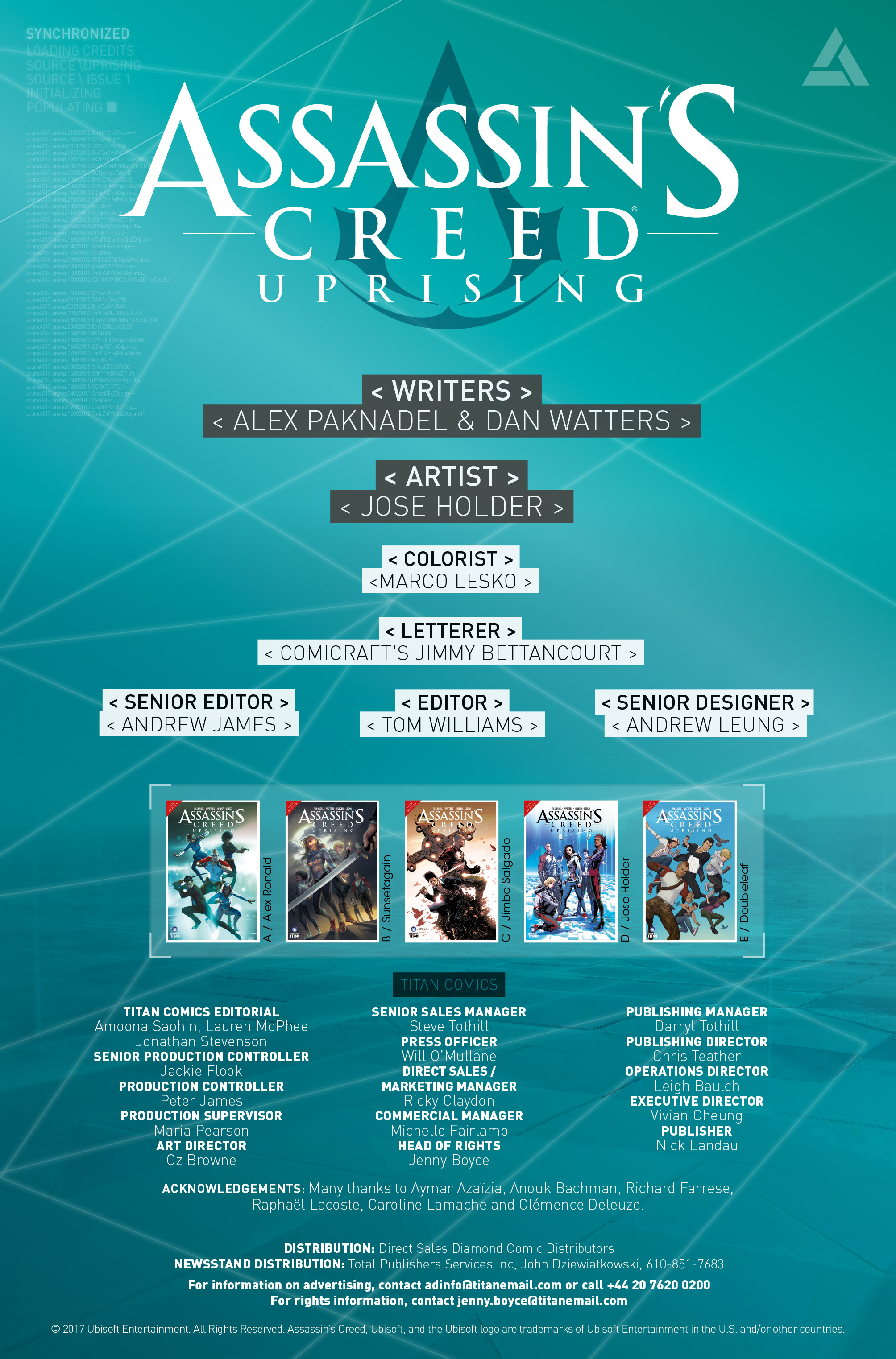 Read online Assassin's Creed: Uprising comic -  Issue #1 - 31