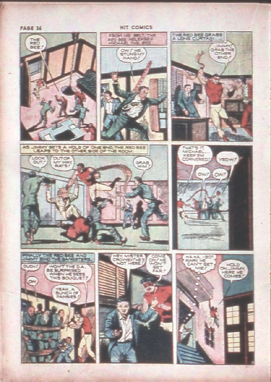 Read online Hit Comics comic -  Issue #8 - 38