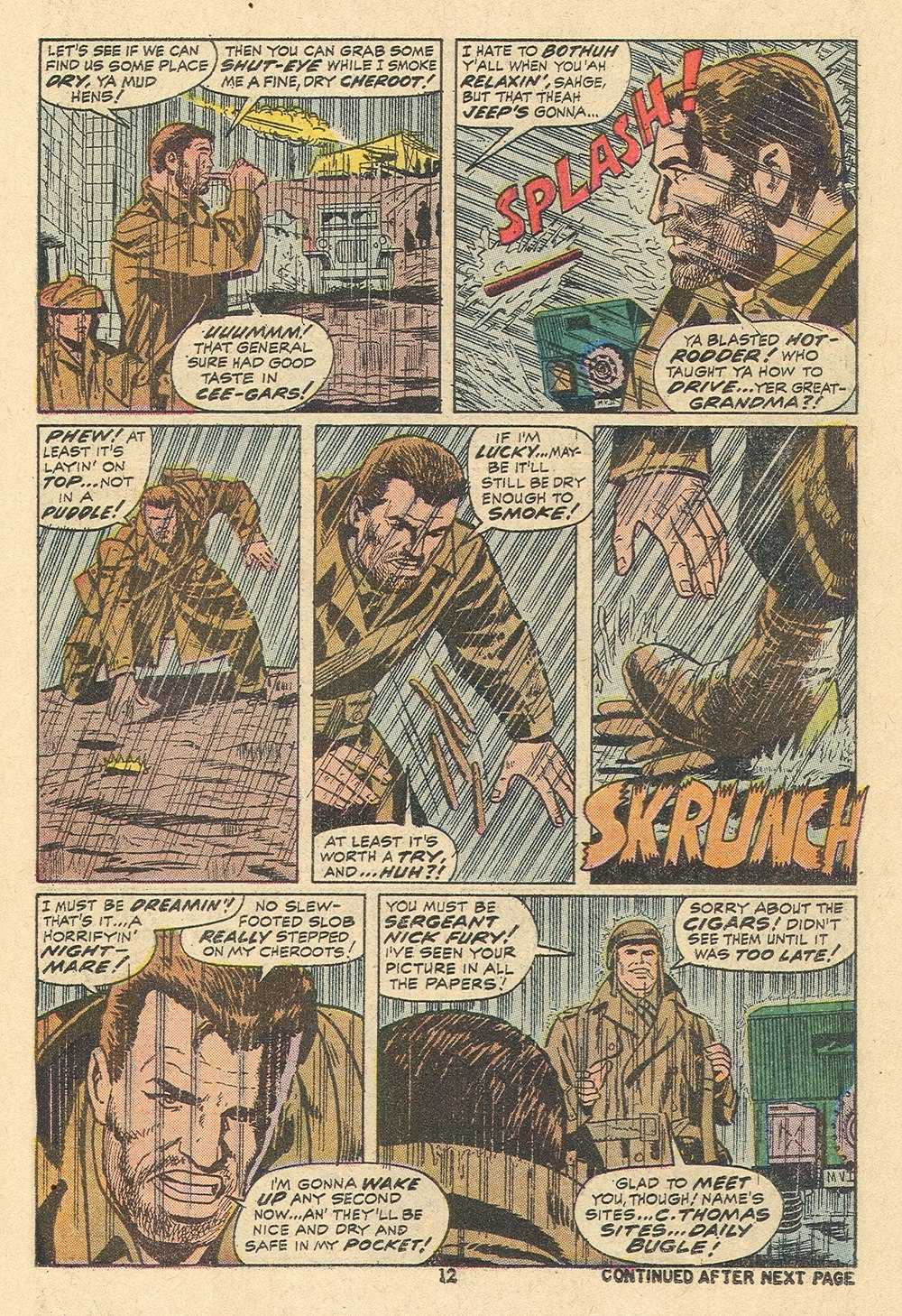 Read online Sgt. Fury comic -  Issue #110 - 14