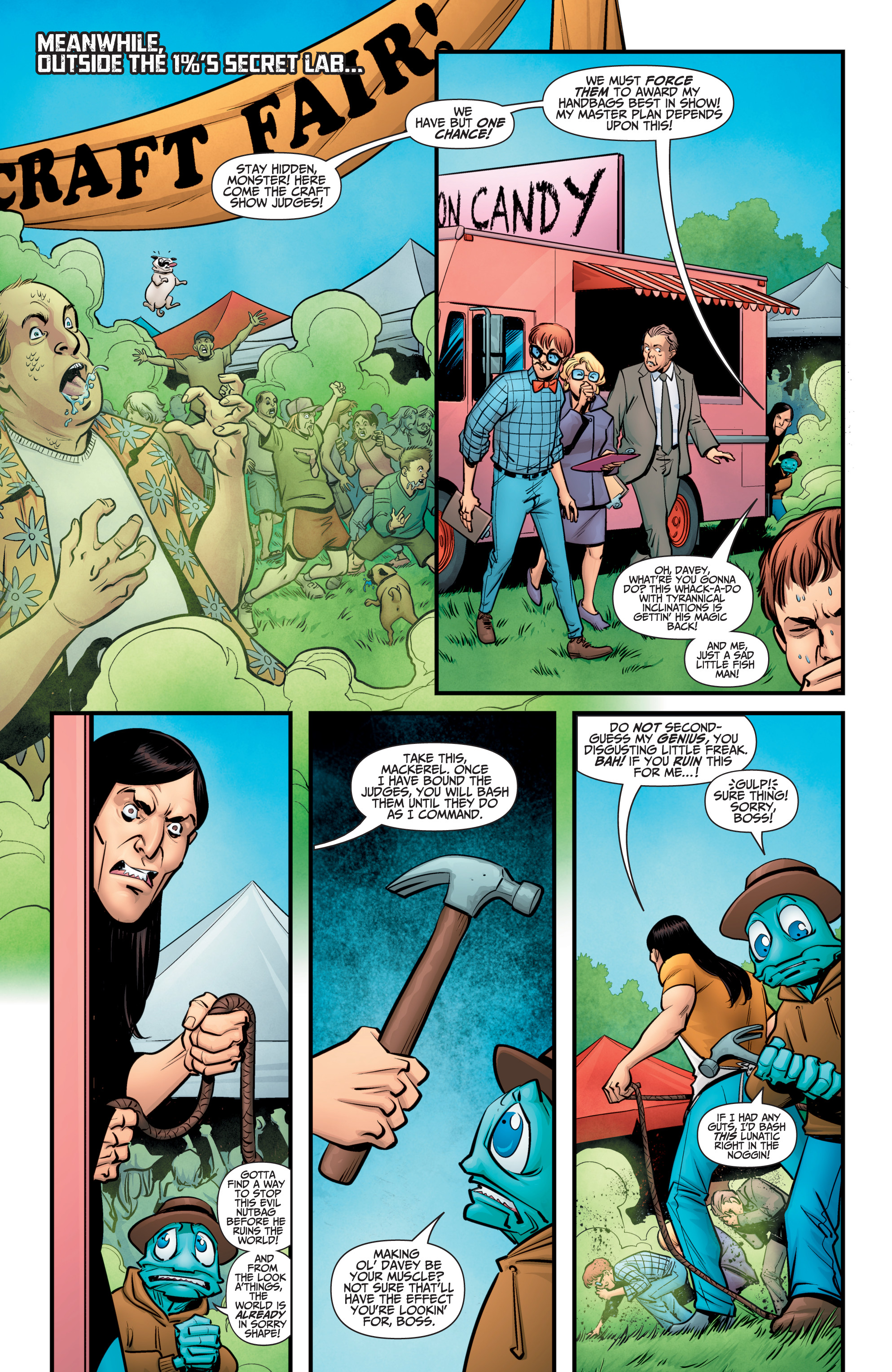Read online A&A: The Adventures of Archer & Armstrong comic -  Issue #11 - 8