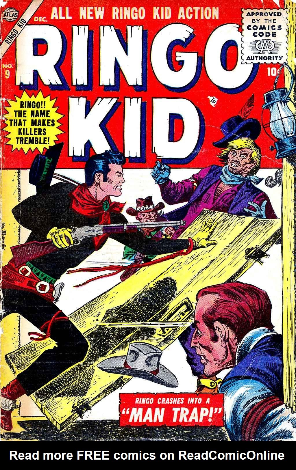 Ringo Kid 9 Page 1