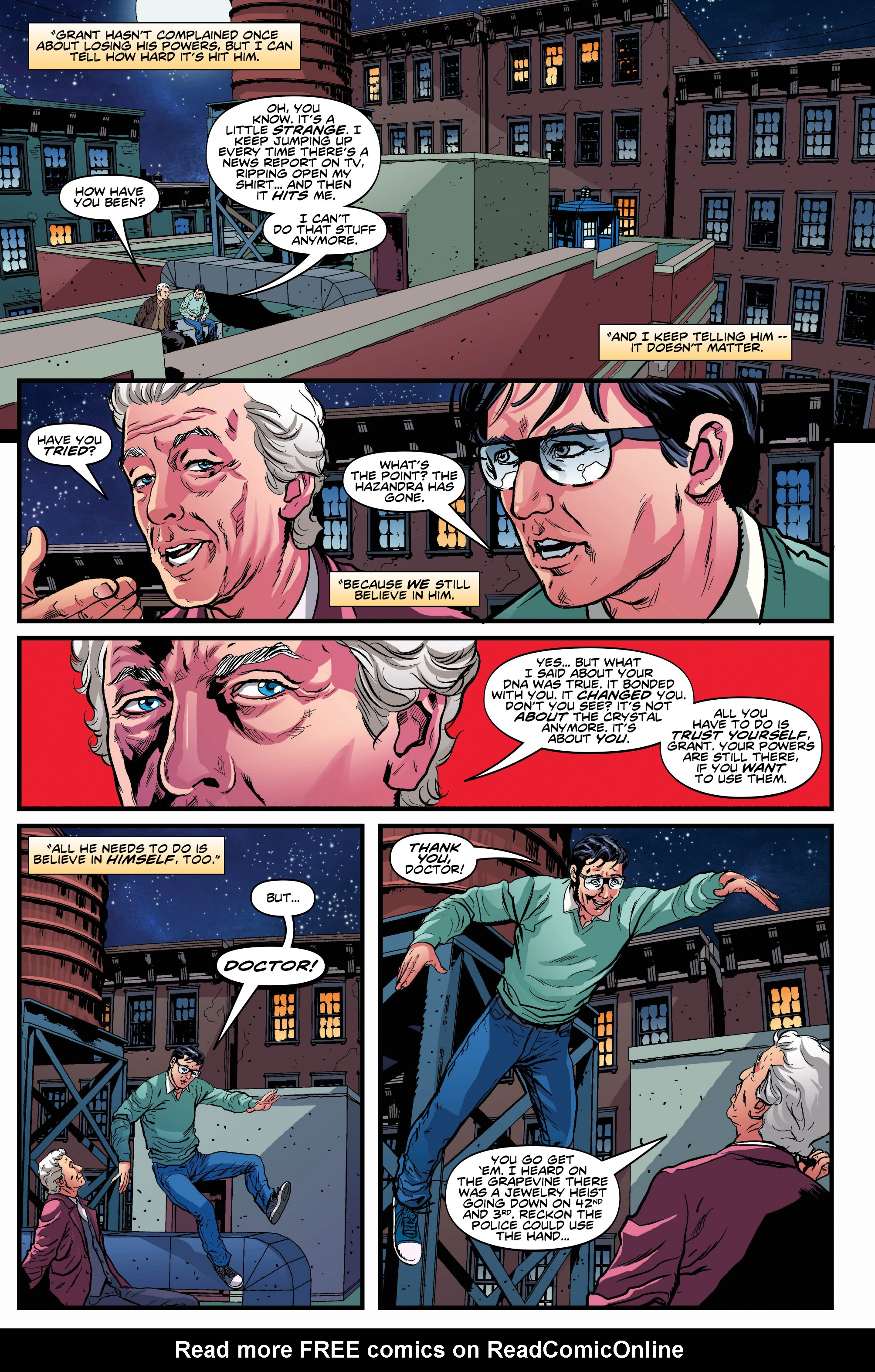 Read online Doctor Who: Ghost Stories comic -  Issue #8 - 12