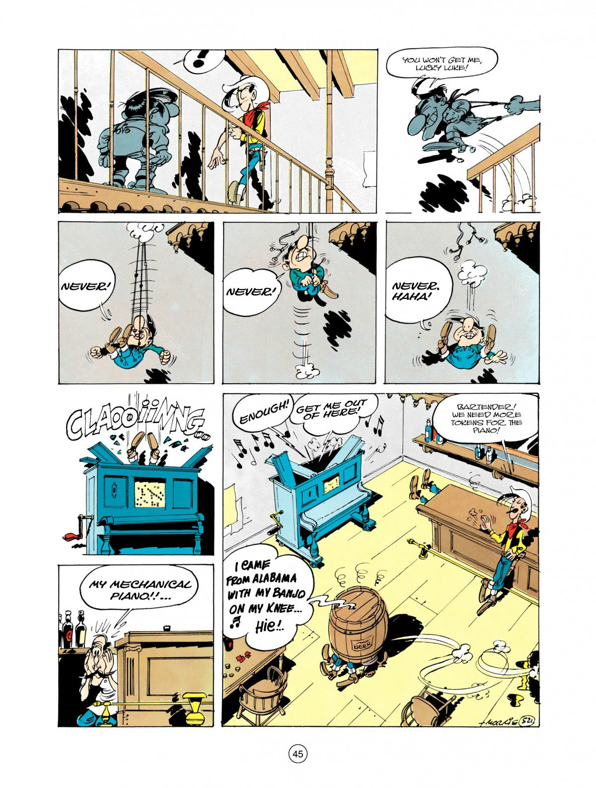 Read online A Lucky Luke Adventure comic -  Issue #28 - 46