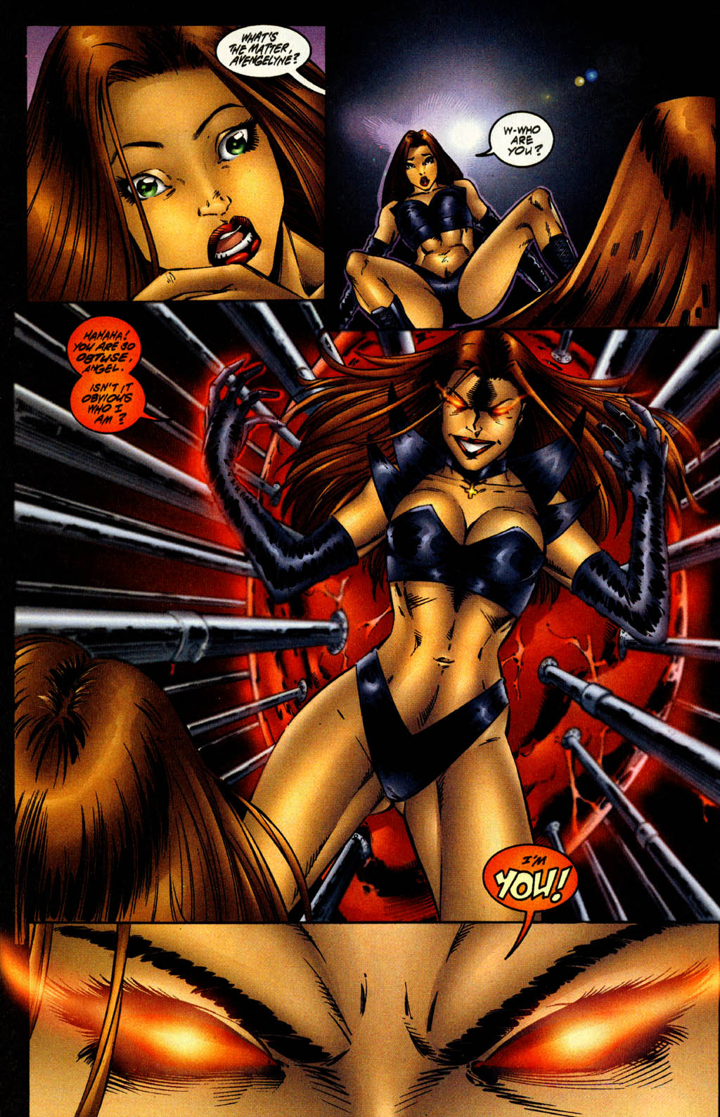 Read online Avengelyne (1996) comic -  Issue #9 - 5