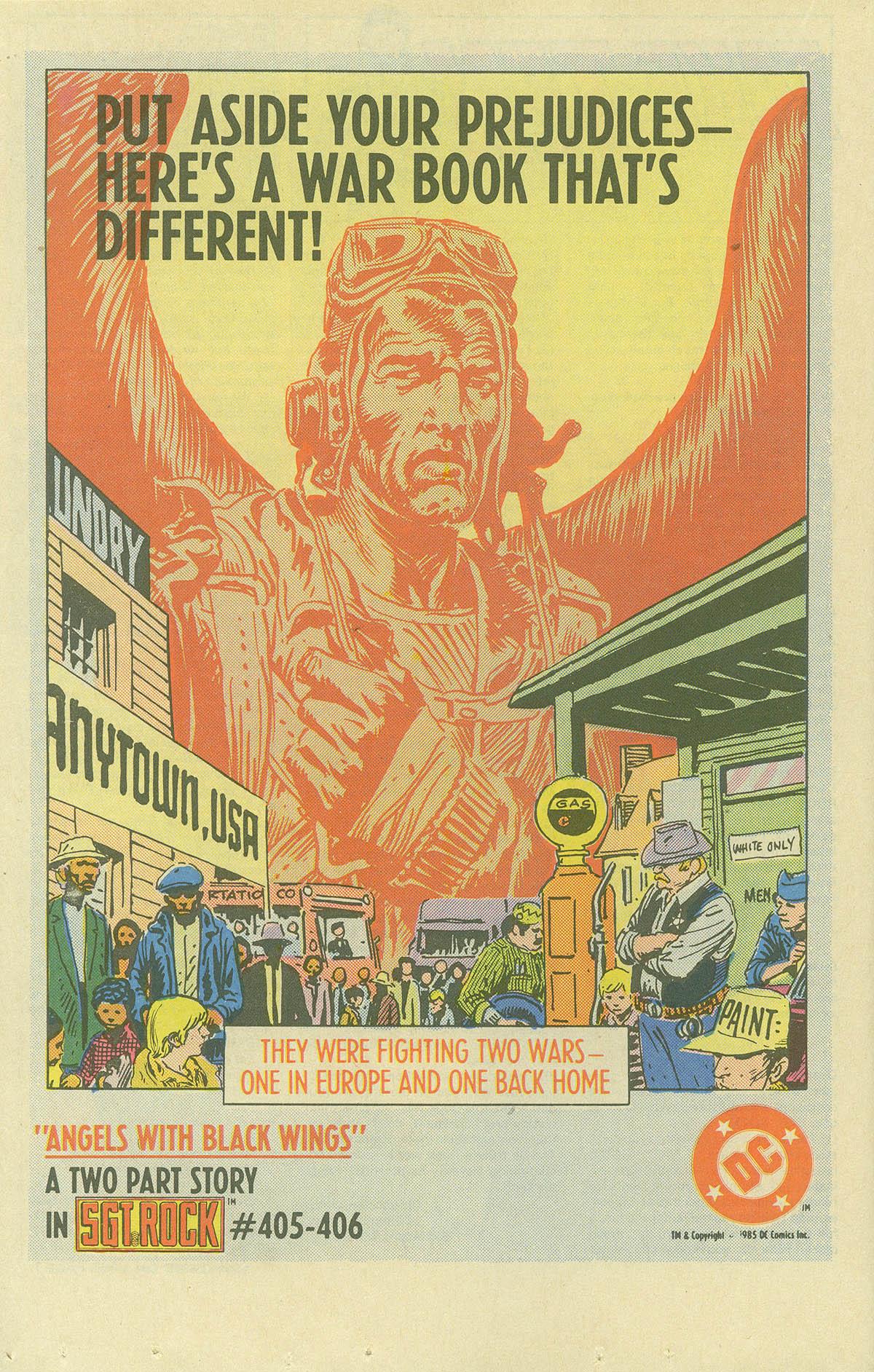 Read online Sgt. Rock comic -  Issue #404 - 18