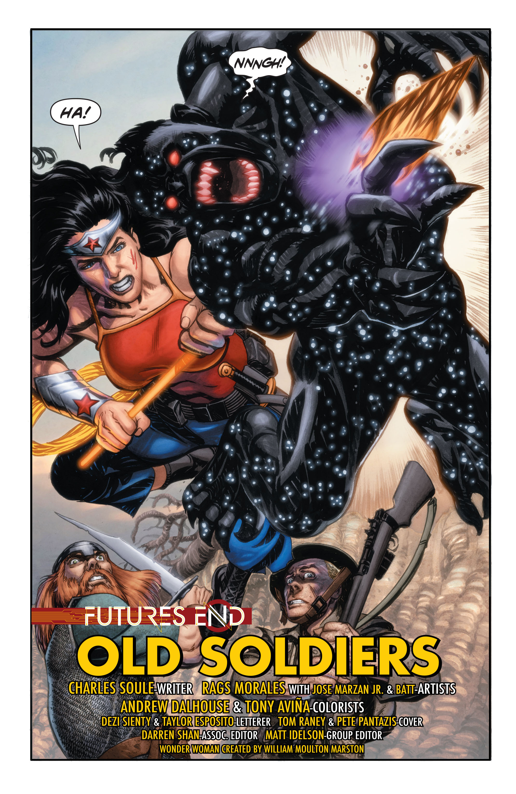 Read online Wonder Woman: Futures End comic -  Issue # Full - 3