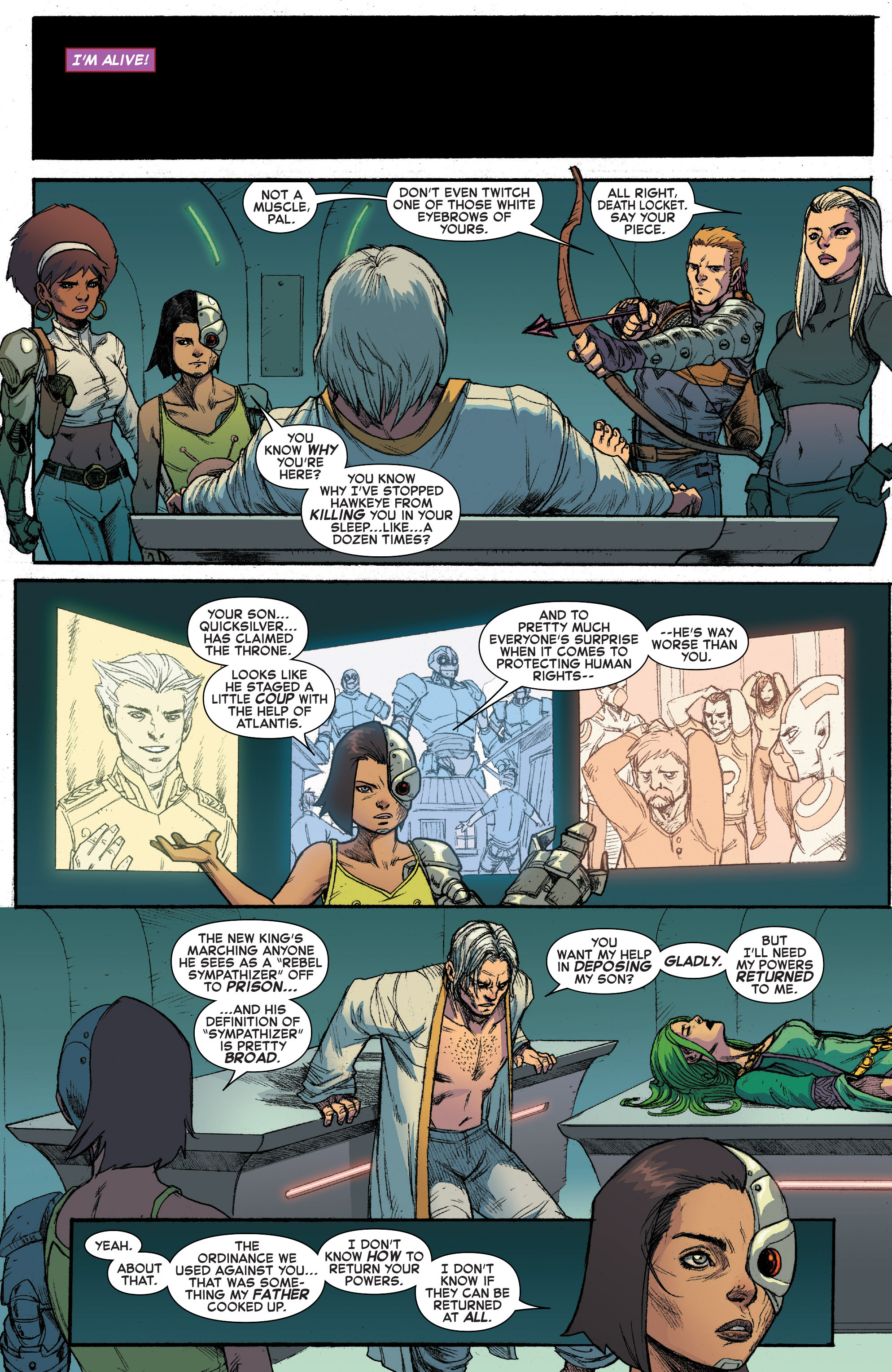 Read online House of M (2015) comic -  Issue #3 - 20