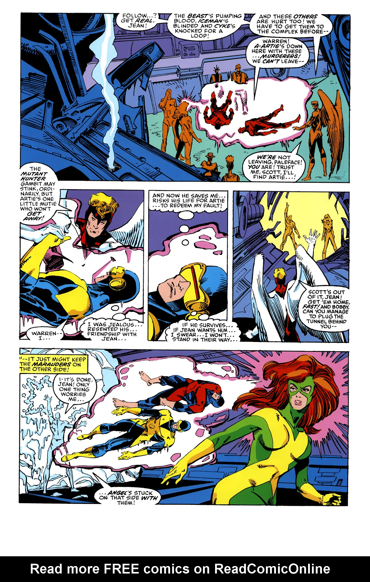 Read online X-Factor (1986) comic -  Issue #10 - 21