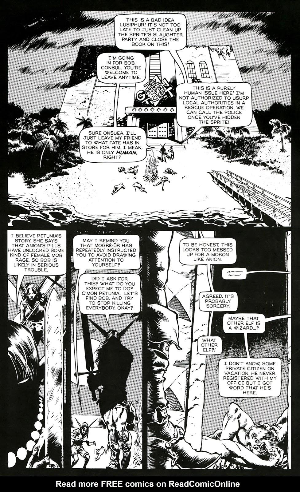 Read online Poison Elves (2013) comic -  Issue #3 - 5