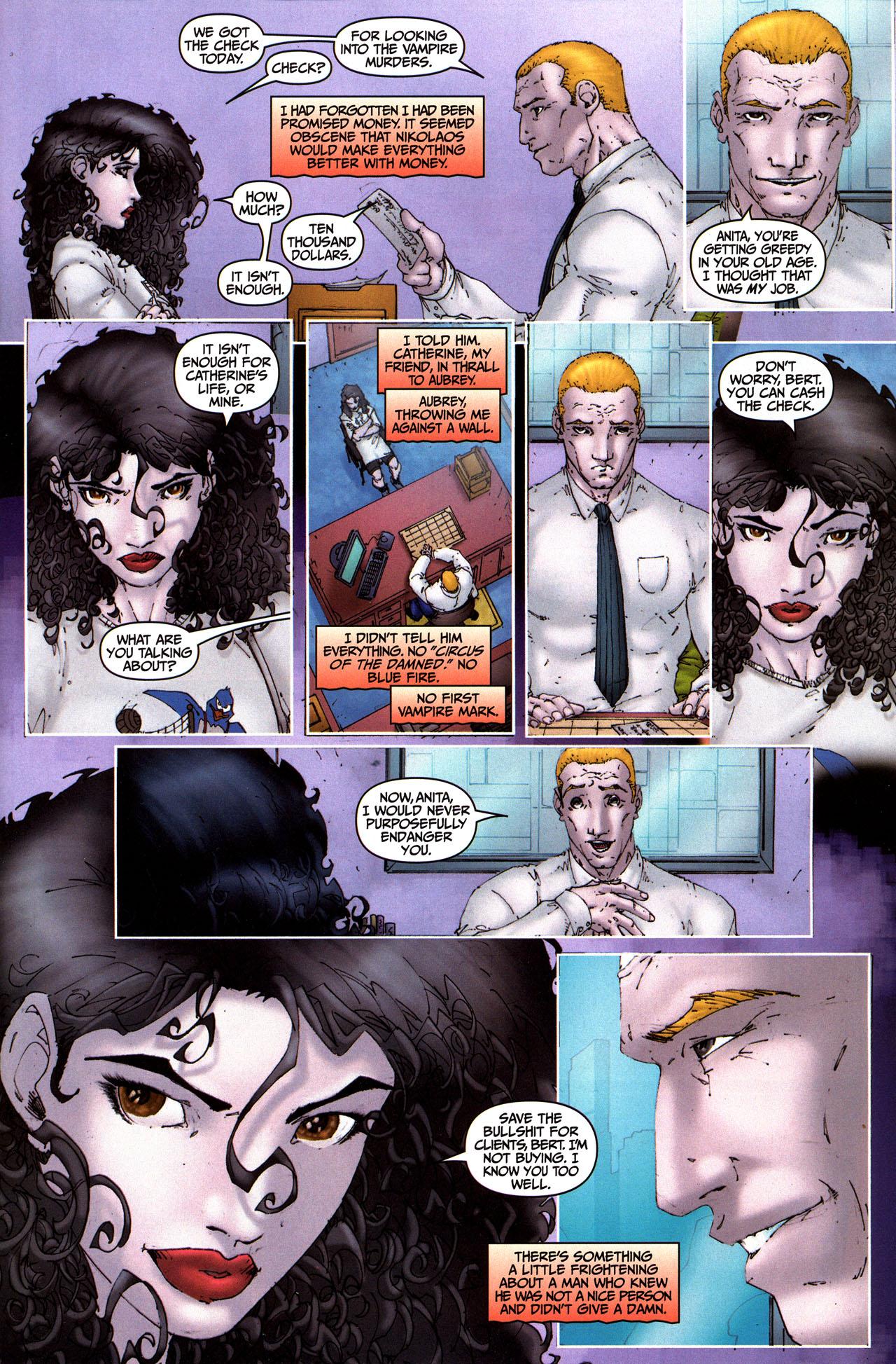 Read online Anita Blake, Vampire Hunter: Guilty Pleasures comic -  Issue #5 - 5