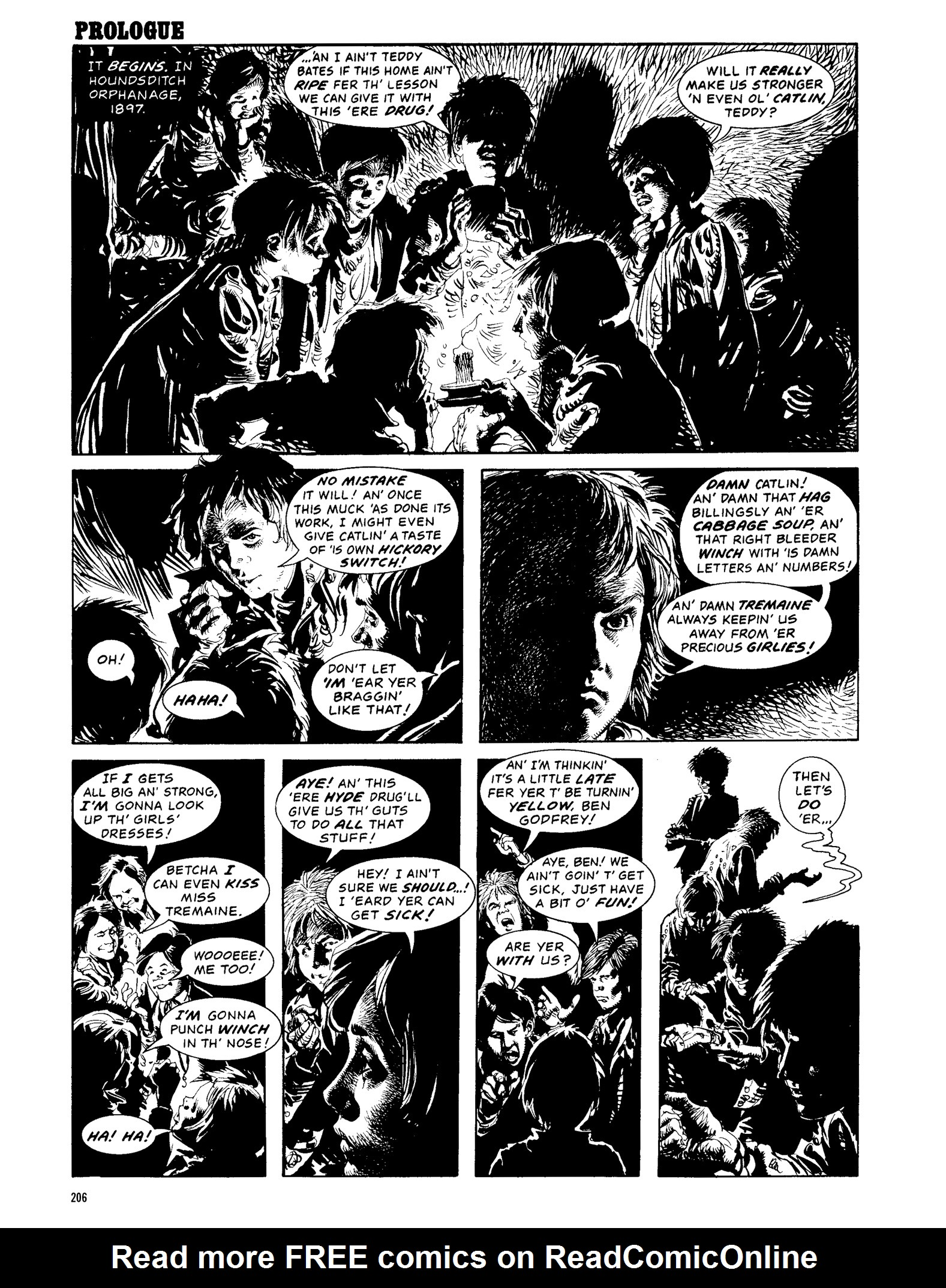 Read online Eerie Archives comic -  Issue # TPB 13 - 207