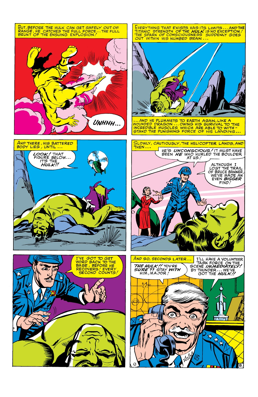 Read online Marvel Masterworks: The Incredible Hulk comic -  Issue # TPB 2 (Part 1) - 42