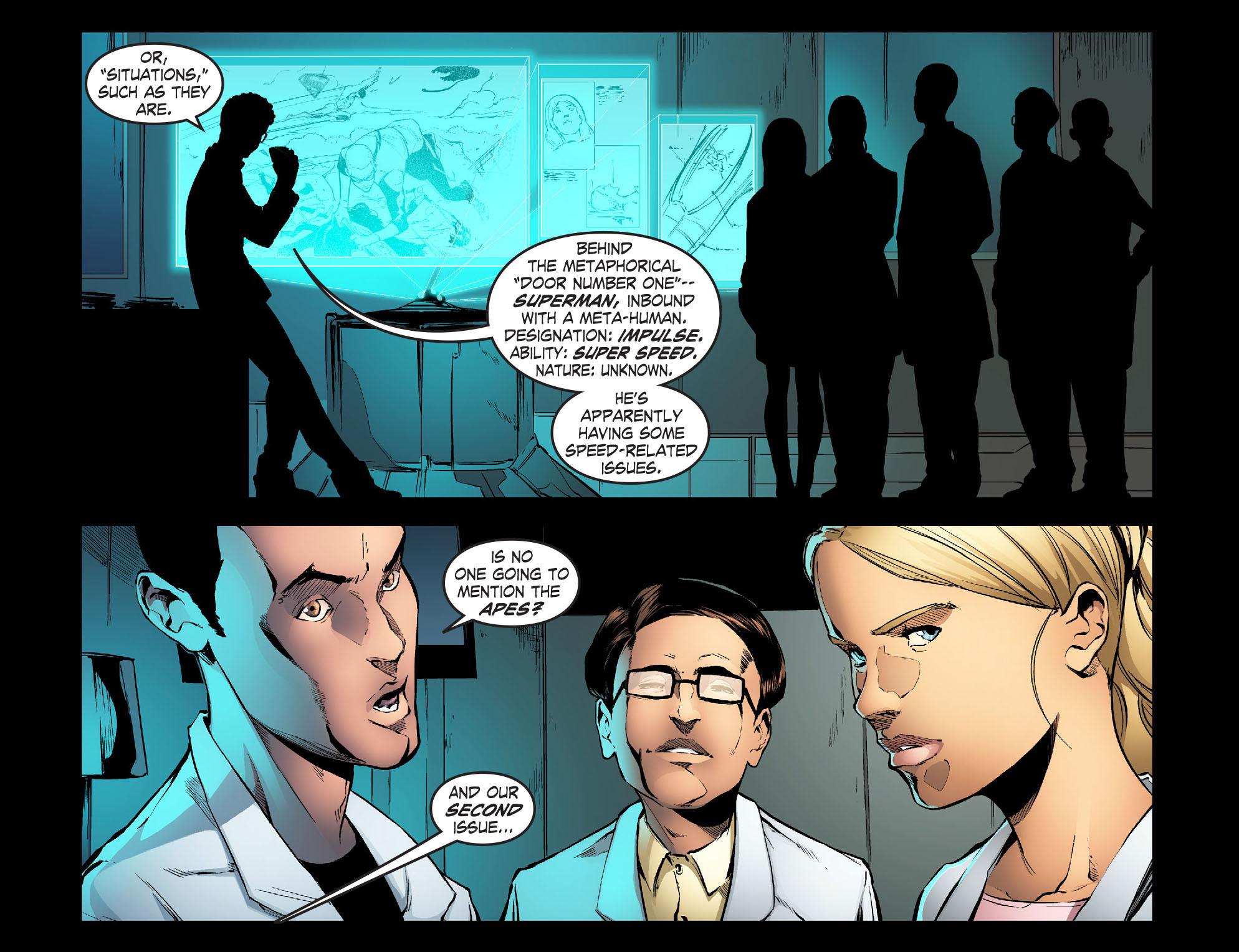 Read online Smallville: Season 11 comic -  Issue #30 - 9