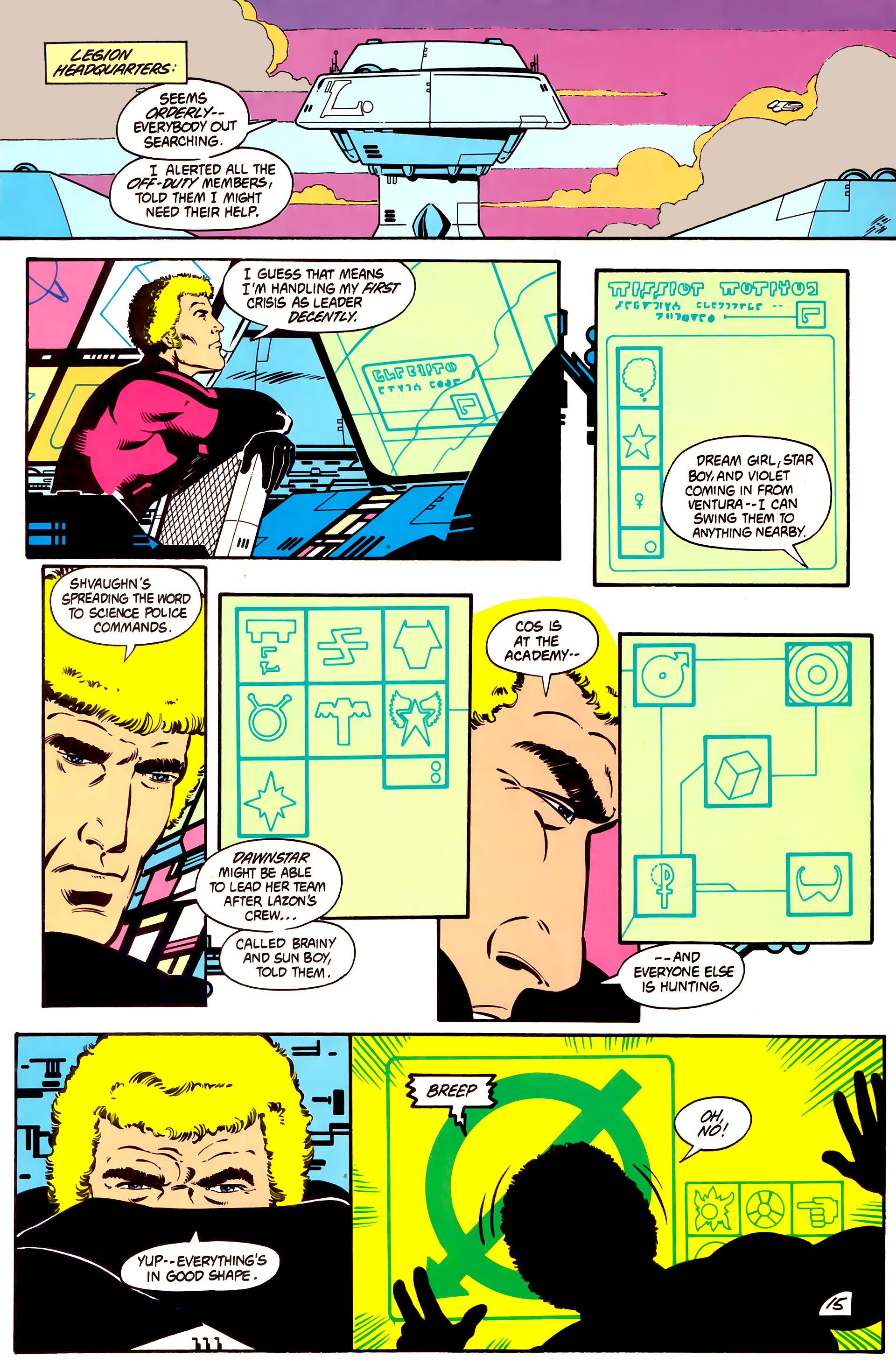 Legion of Super-Heroes (1984) 2 Page 16