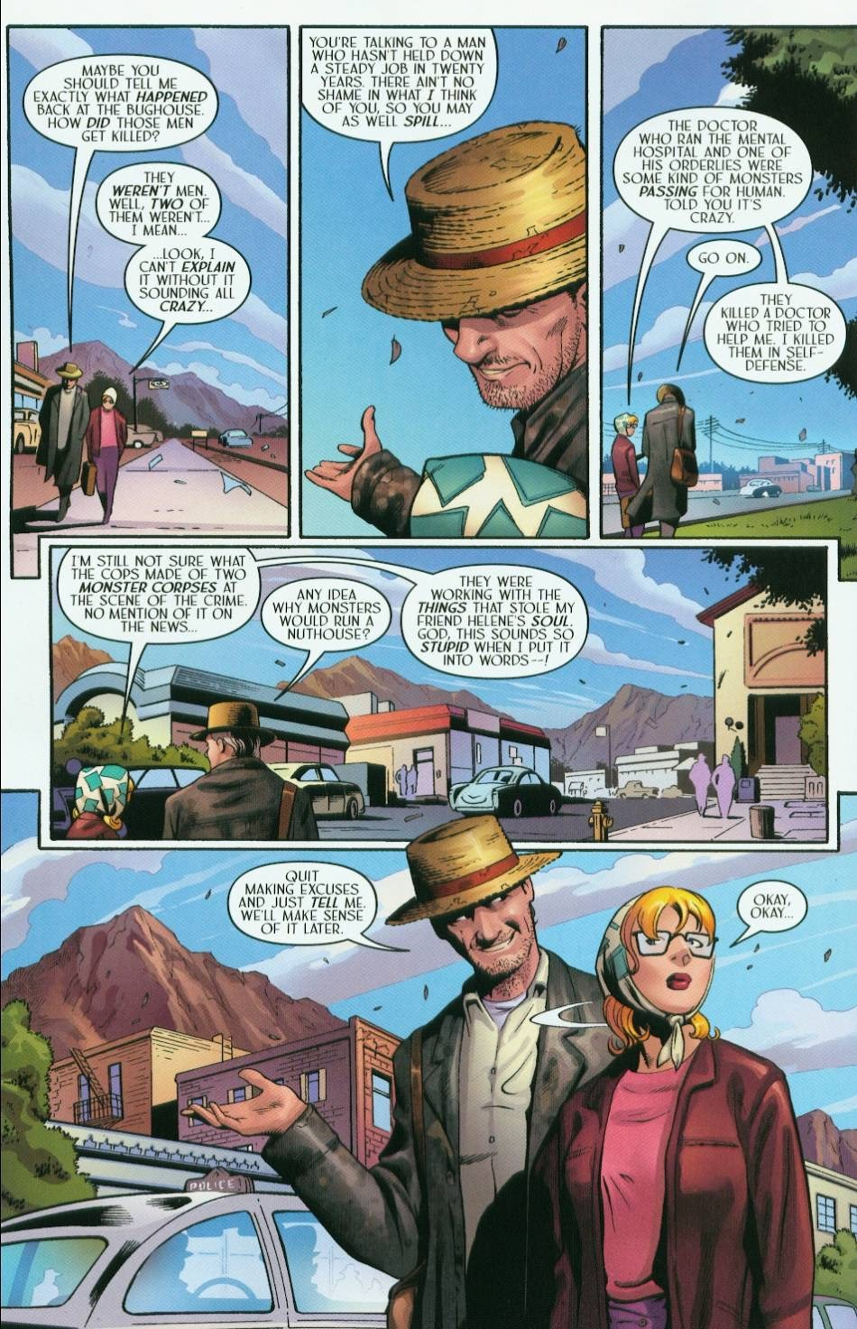 Read online Route 666 comic -  Issue #5 - 10