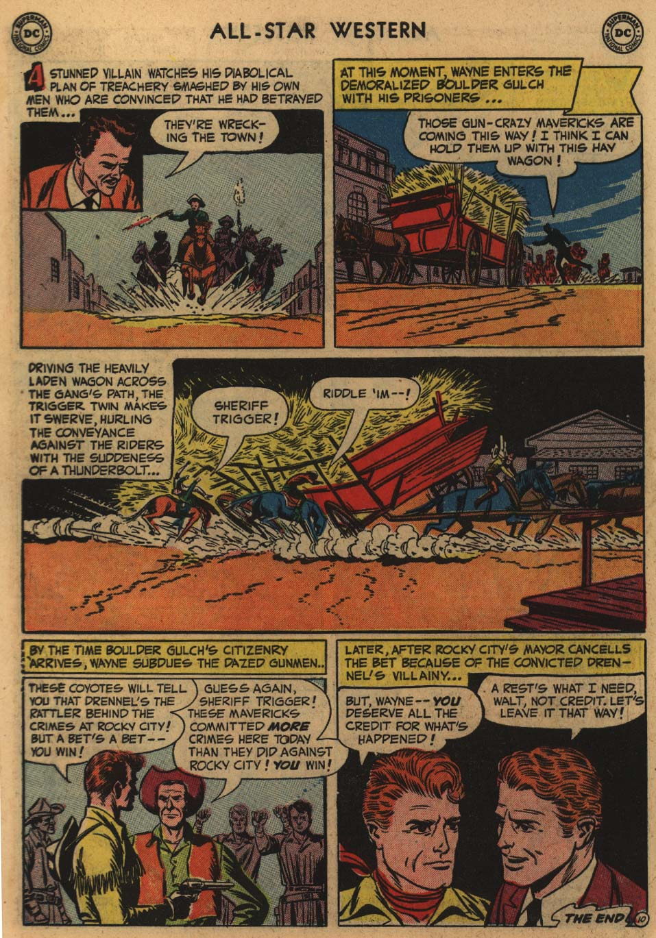 Read online All-Star Western (1951) comic -  Issue #60 - 12