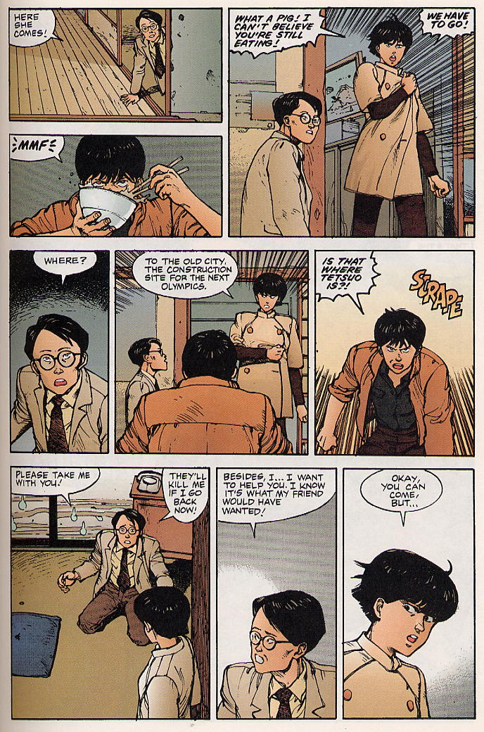 Read online Akira comic -  Issue #9 - 33