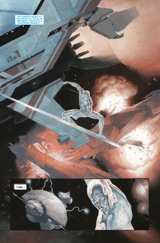 Read online Silver Surfer: Requiem comic -  Issue #3 - 11