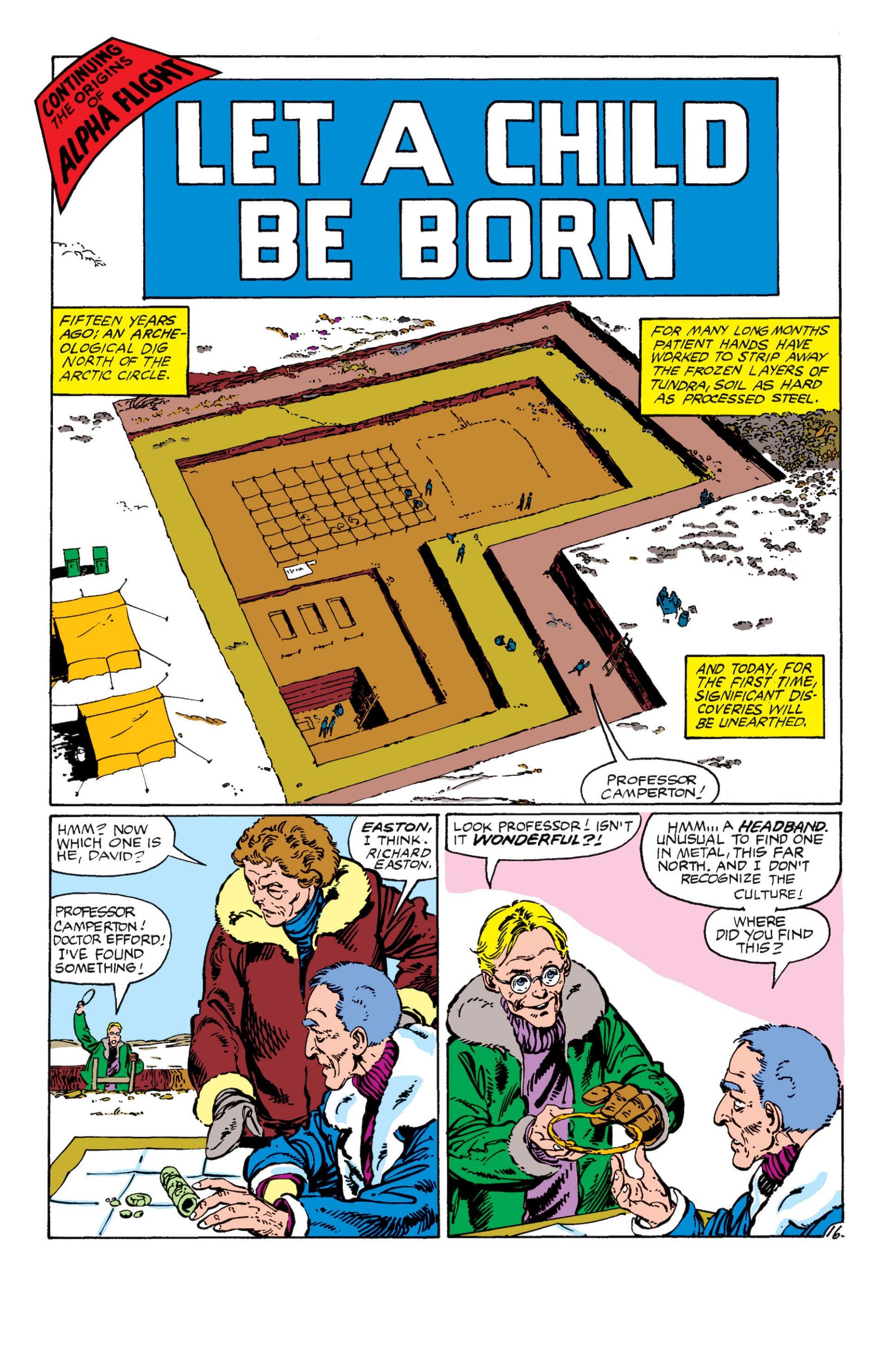 Read online Alpha Flight (1983) comic -  Issue #7 - 17