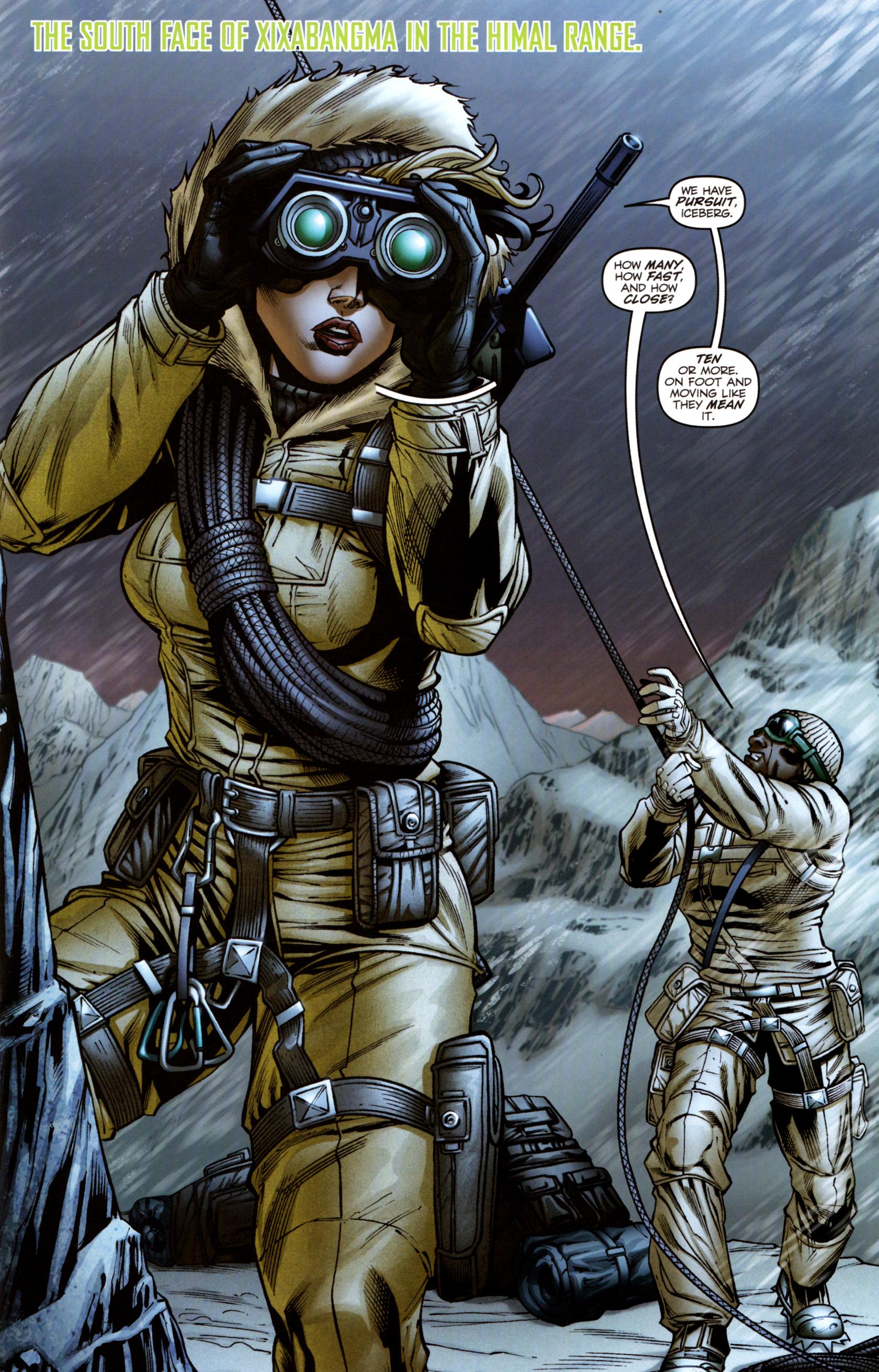Read online G.I. Joe: Snake Eyes comic -  Issue #3 - 4