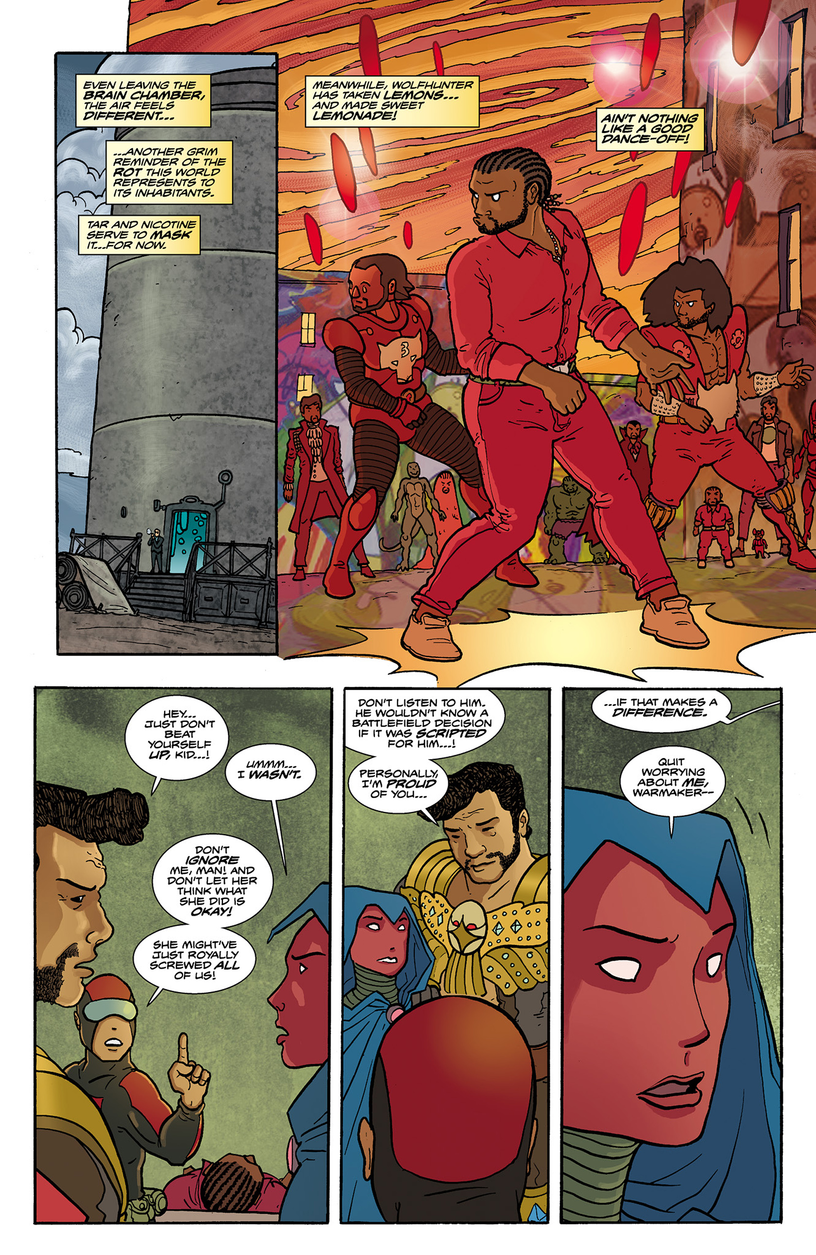 Read online Catalyst Comix comic -  Issue #6 - 21