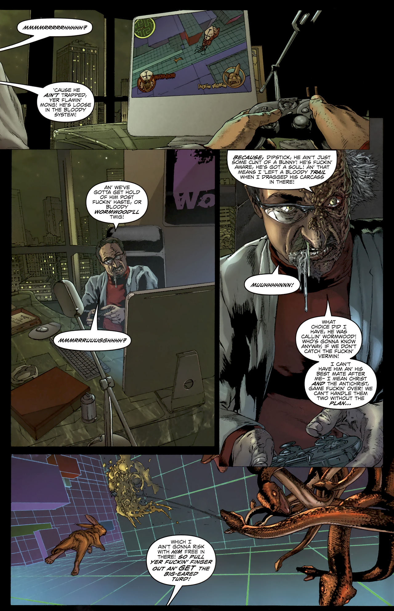 Read online Chronicles of Wormwood: The Last Battle comic -  Issue #5 - 9