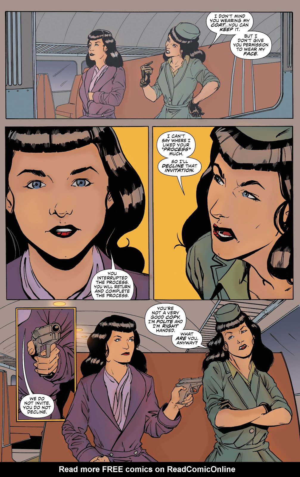 Read online Bettie Page: Unbound comic -  Issue #8 - 8